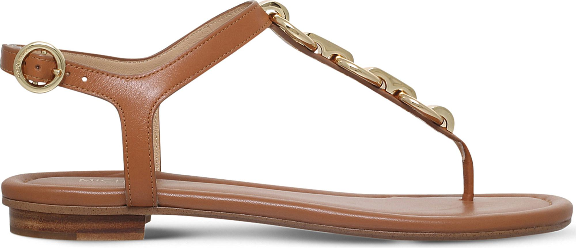 2432af56948a MICHAEL Michael Kors. Women s Mahari Leather Thong Sandals