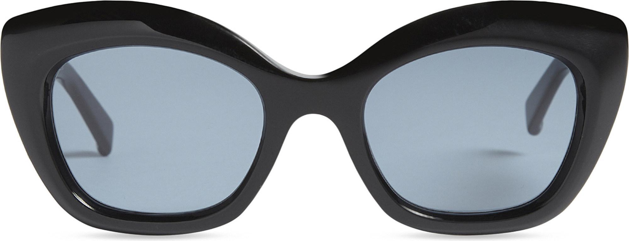 c728b07c18f Lyst - Max Mara Prism Cat-eye Frame Sunglasses in Black