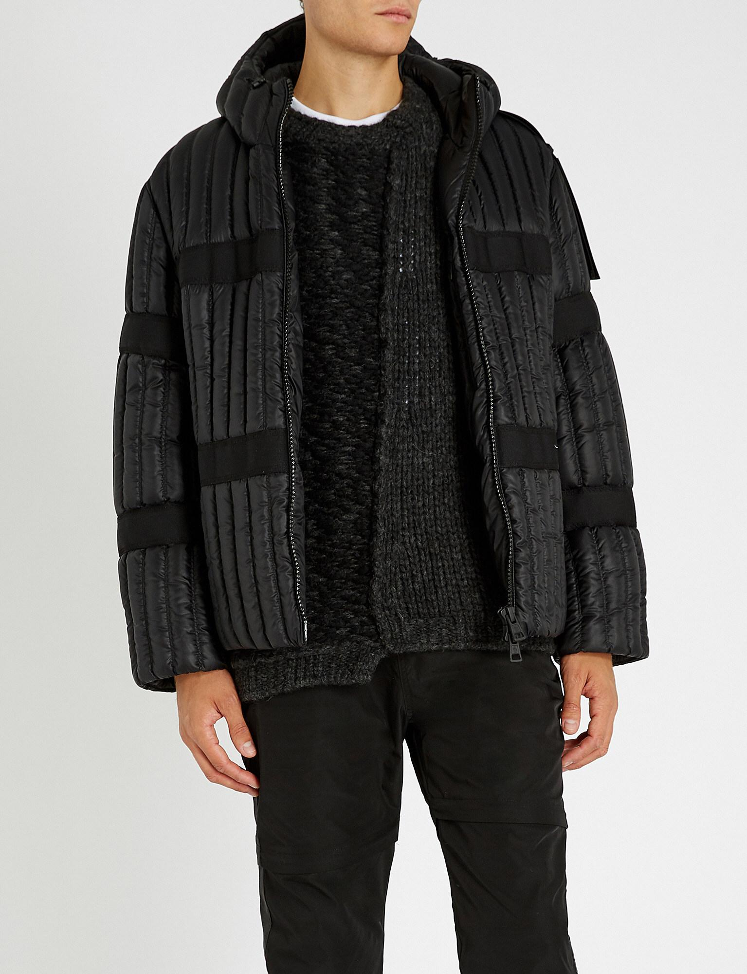 2fe9b3956a06 Moncler 5 Craig Green Shell-down Jacket in Black for Men - Lyst