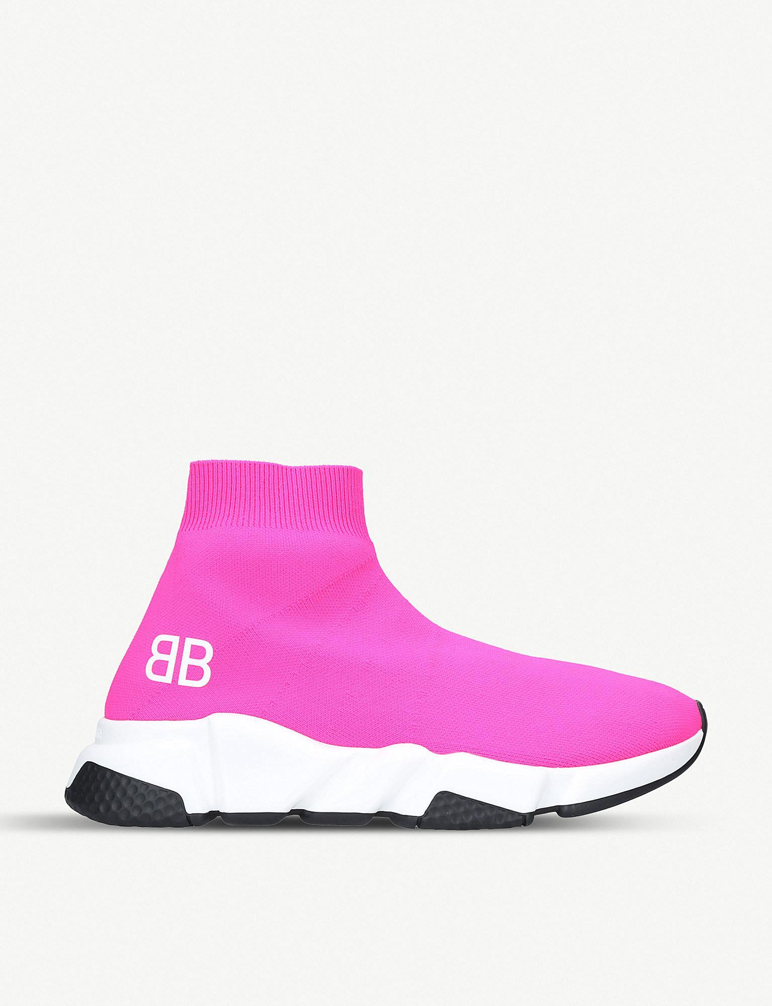 Speed sneakers - Pink & Purple Balenciaga JMrkz
