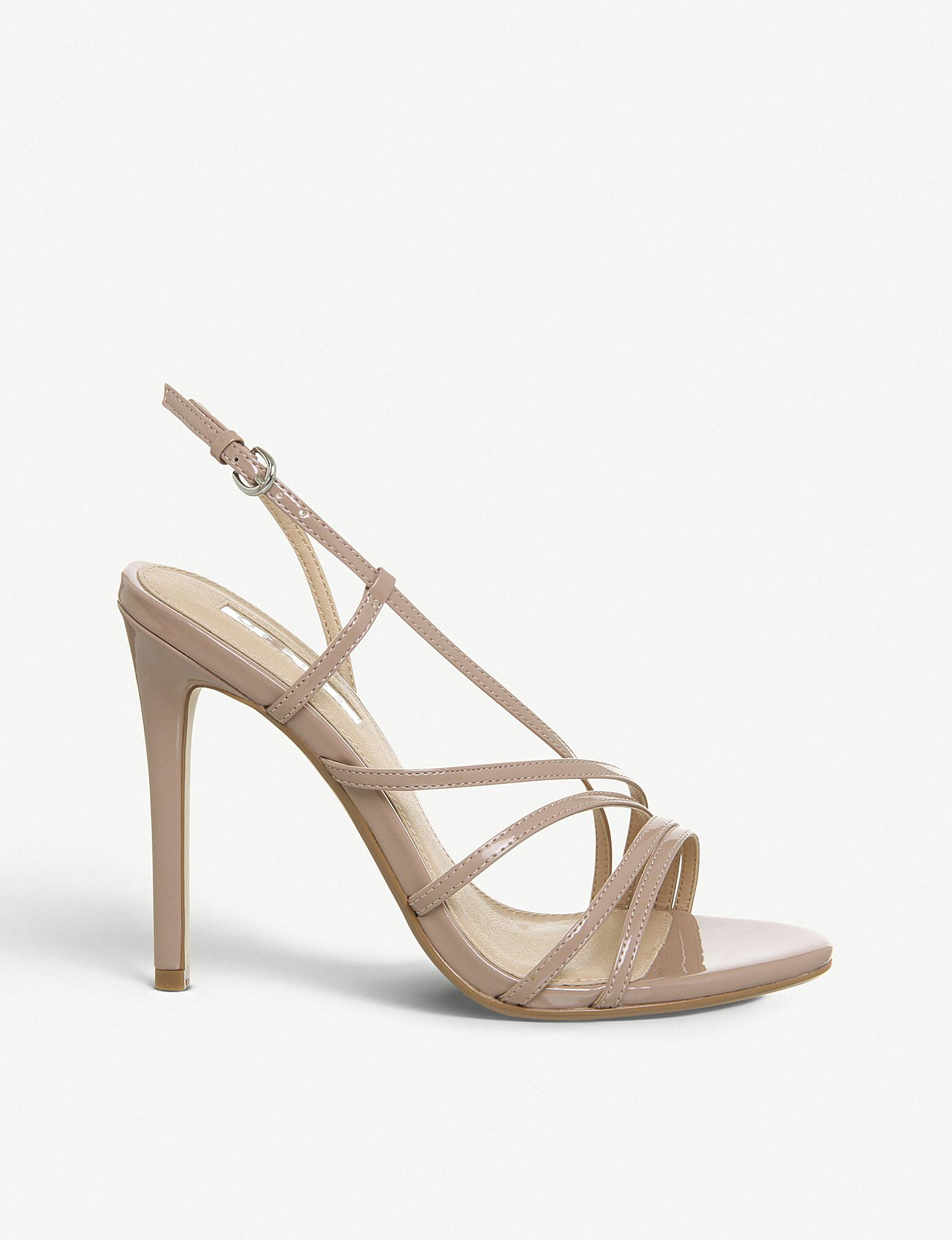 c0e1c1b3ed Office. Women's Hamsa Faux-leather Heeled Sandals