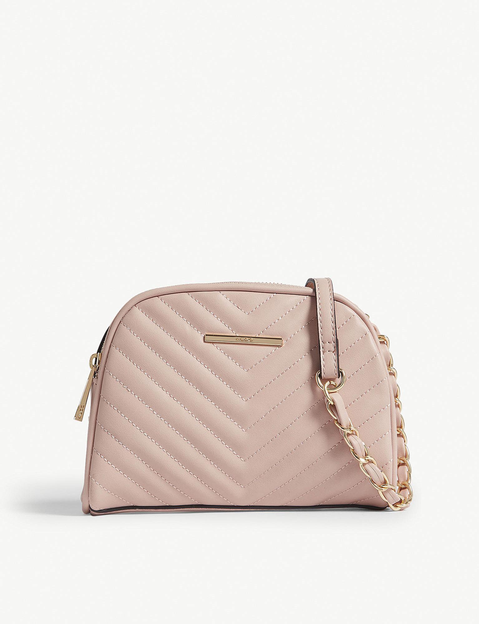 0a4b9545da Lyst - ALDO Dorolora Quilted Cross-body Bag in Pink