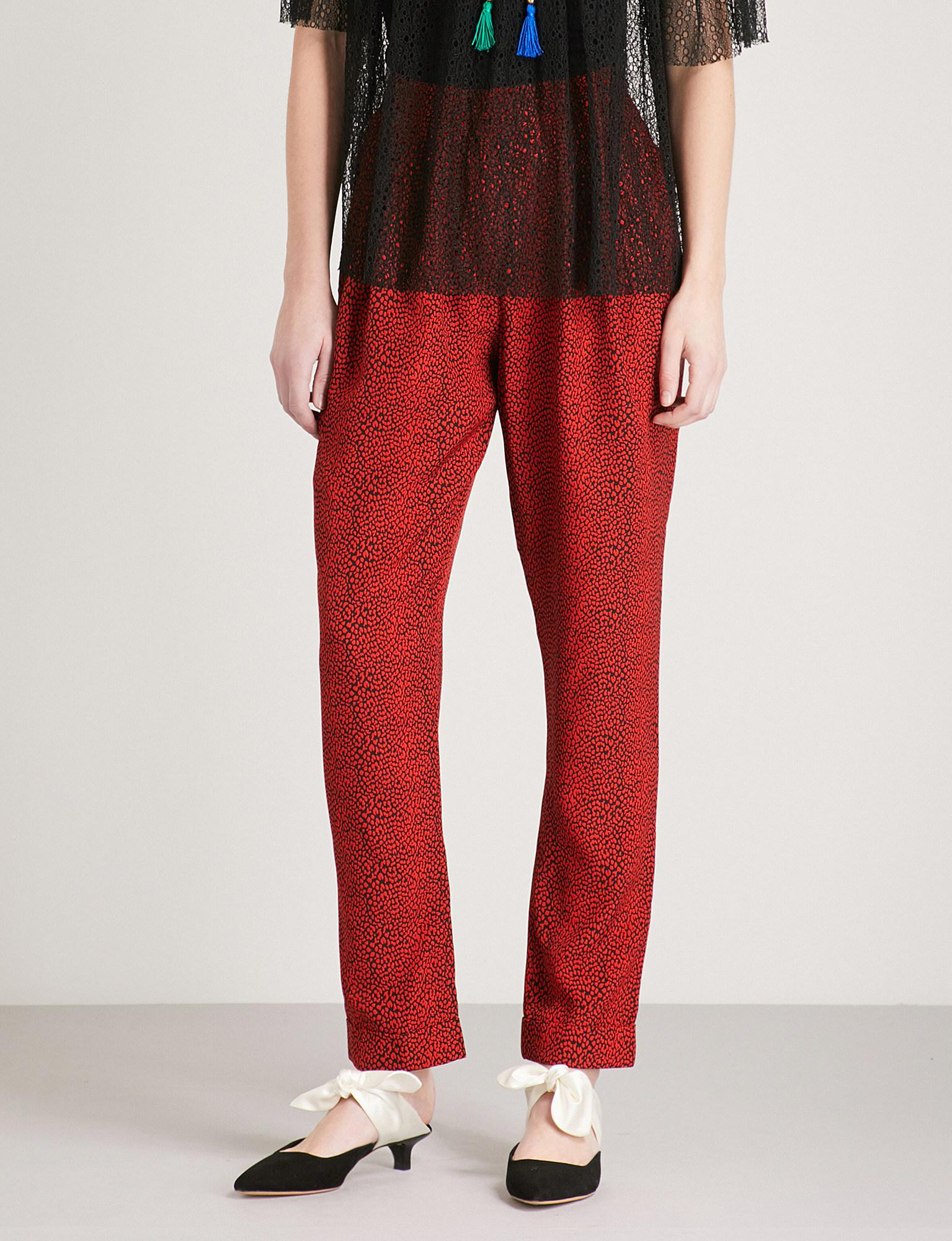cropped straight trousers - Red Philosophy di Lorenzo Serafini 131I6a26
