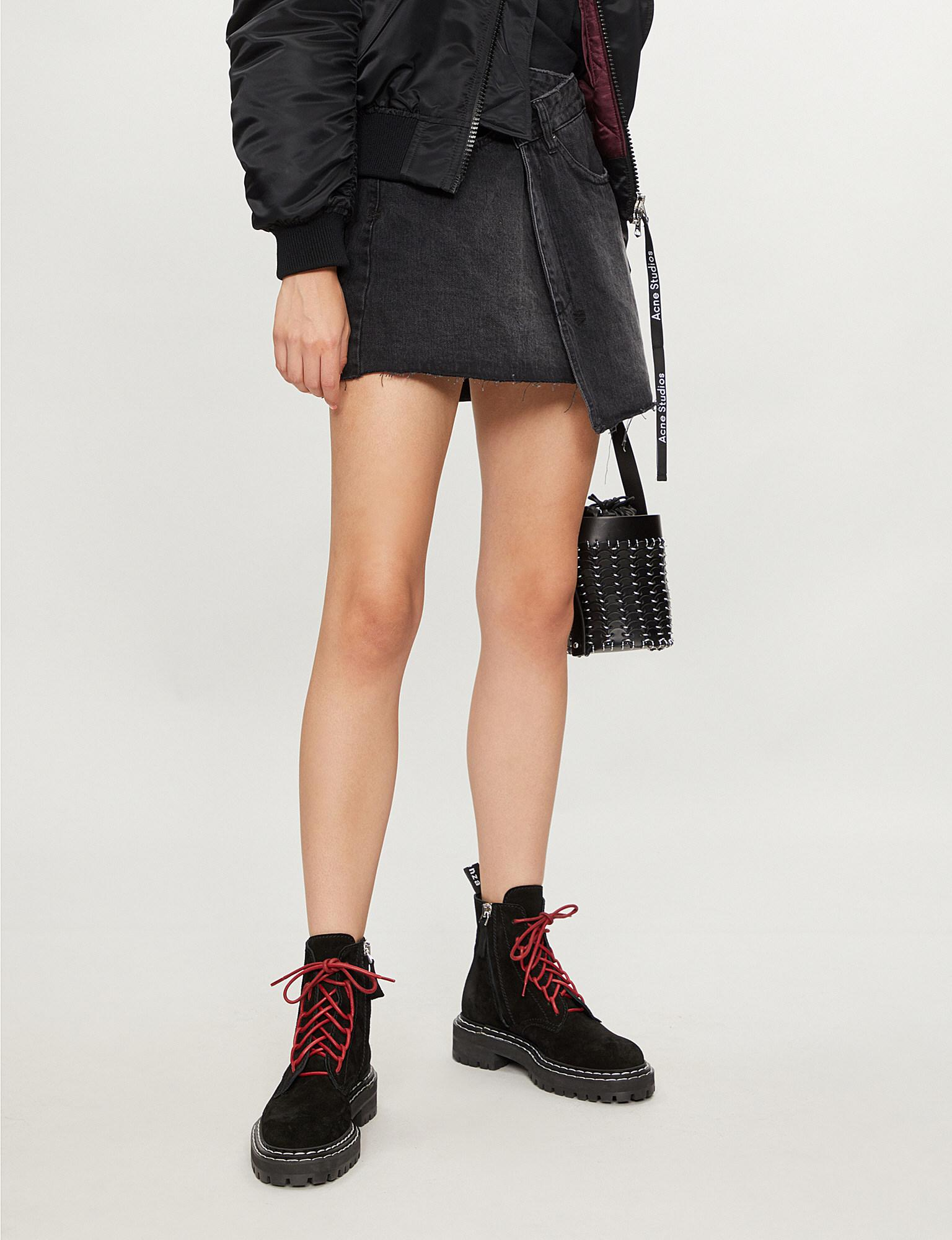 cbae8068a Ksubi Wrap Denim Skirt – DACC
