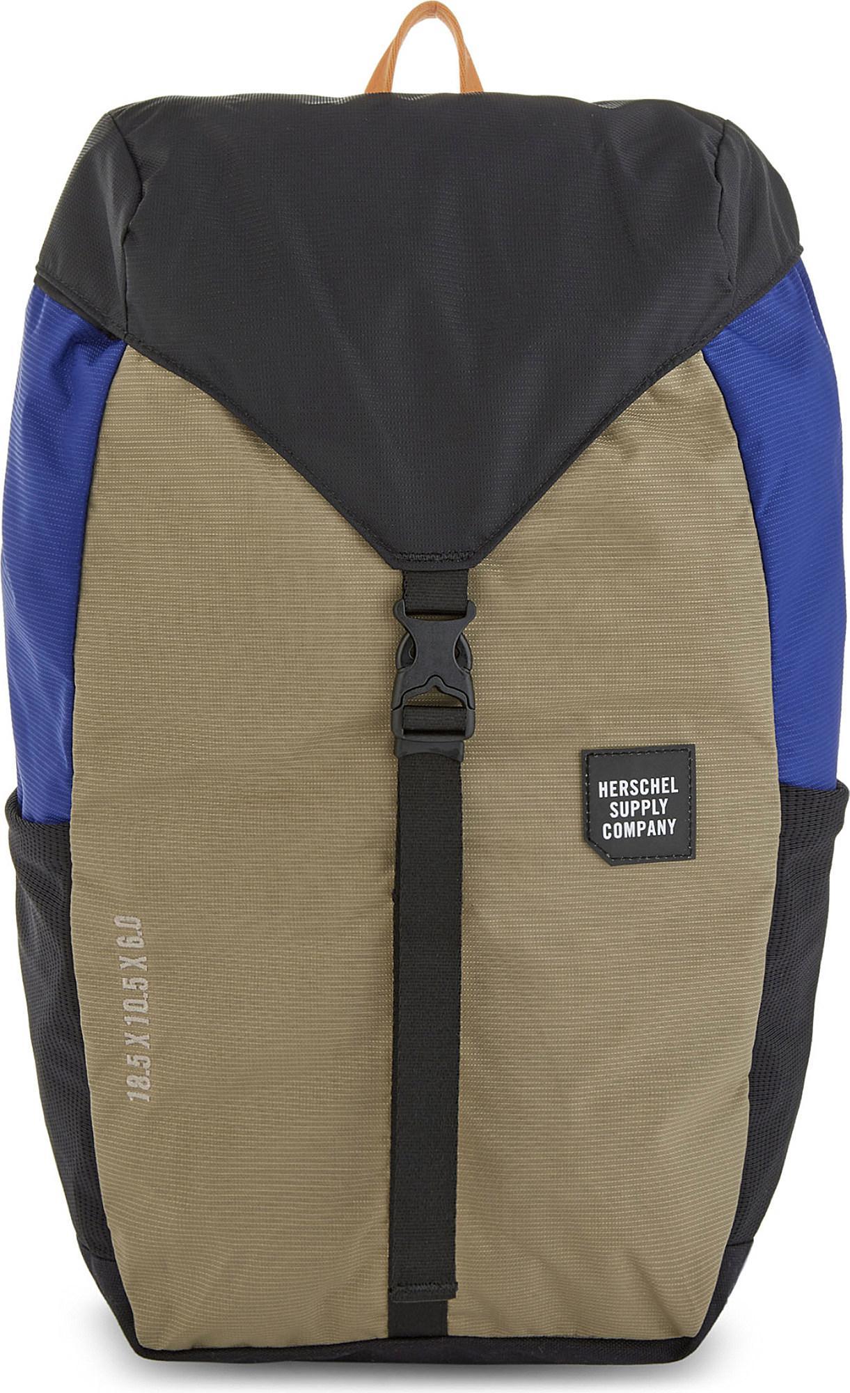 a28b1ec8118 Lyst - Herschel Supply Co. Barlow Backpack in Green for Men