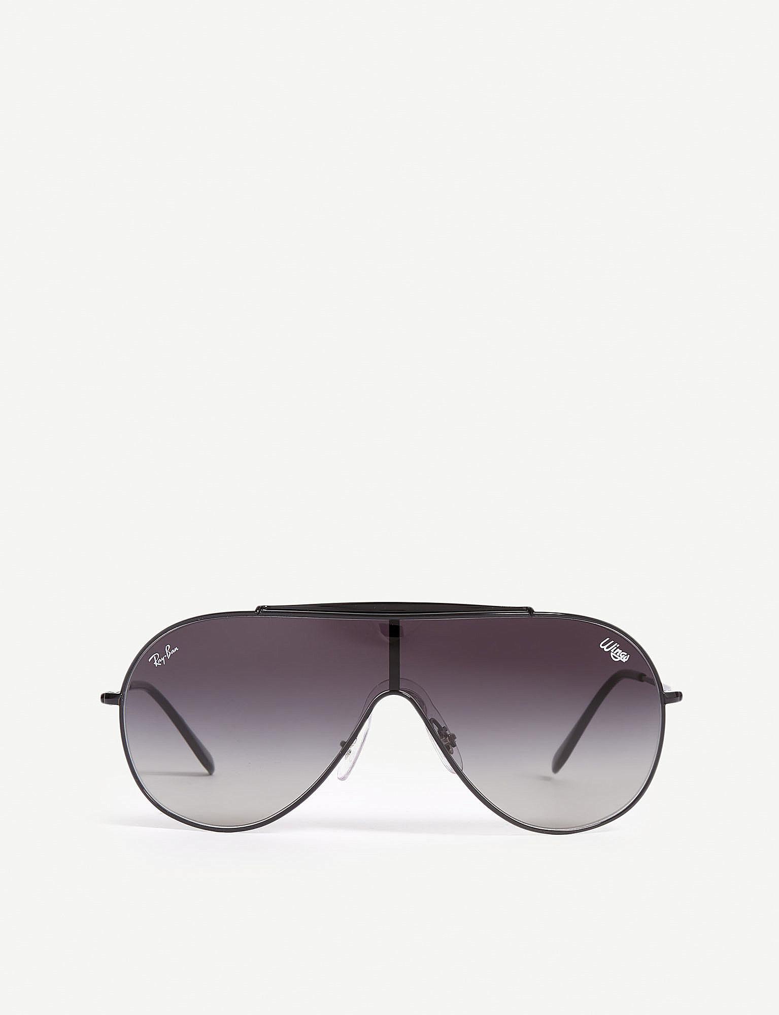 1dde628fc4 Ray-Ban Rb3597 Pilot-frame Sunglasses in Black - Lyst