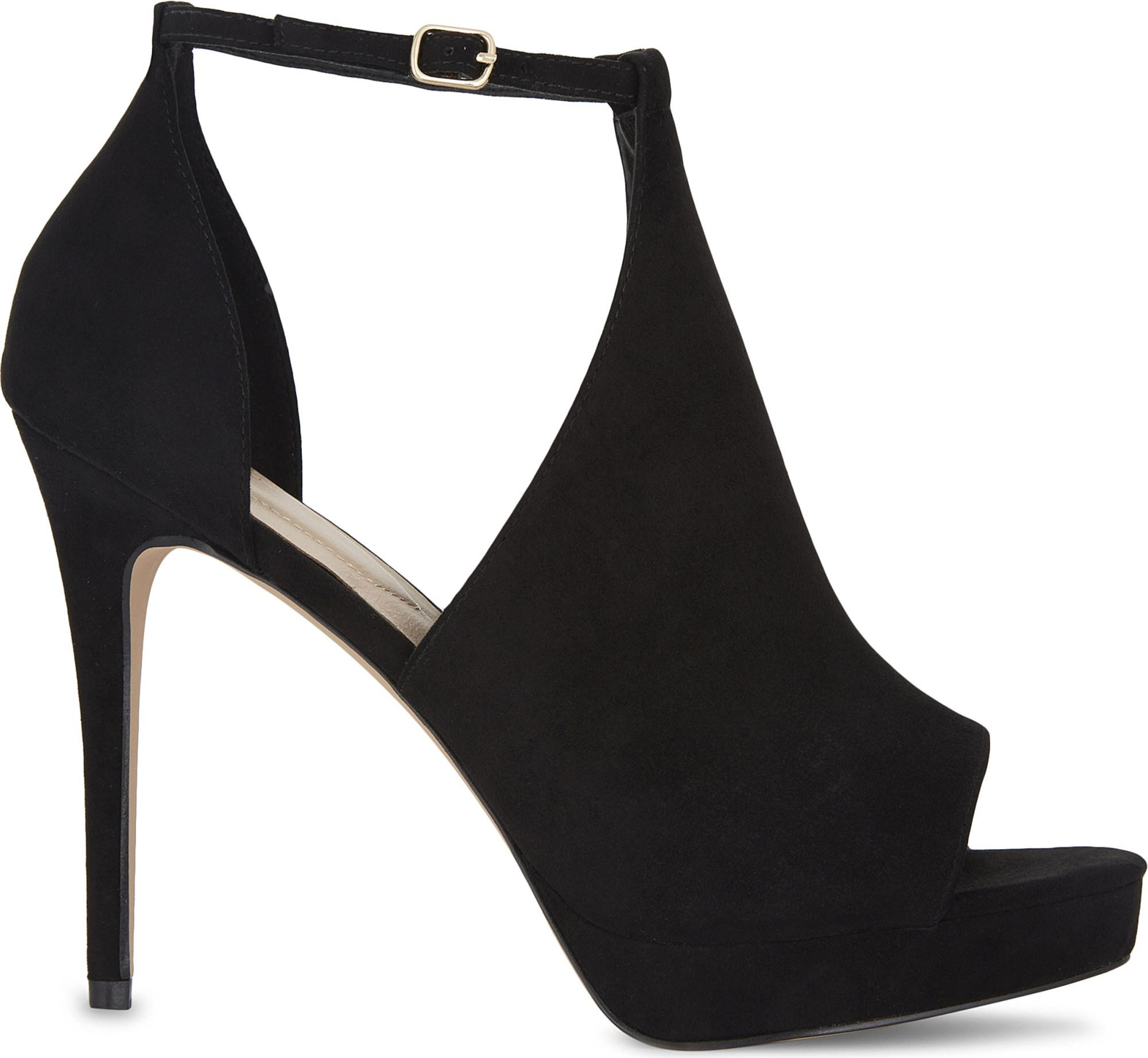 f0446b946b71 Lyst - ALDO Annys Platform Sandals in Black