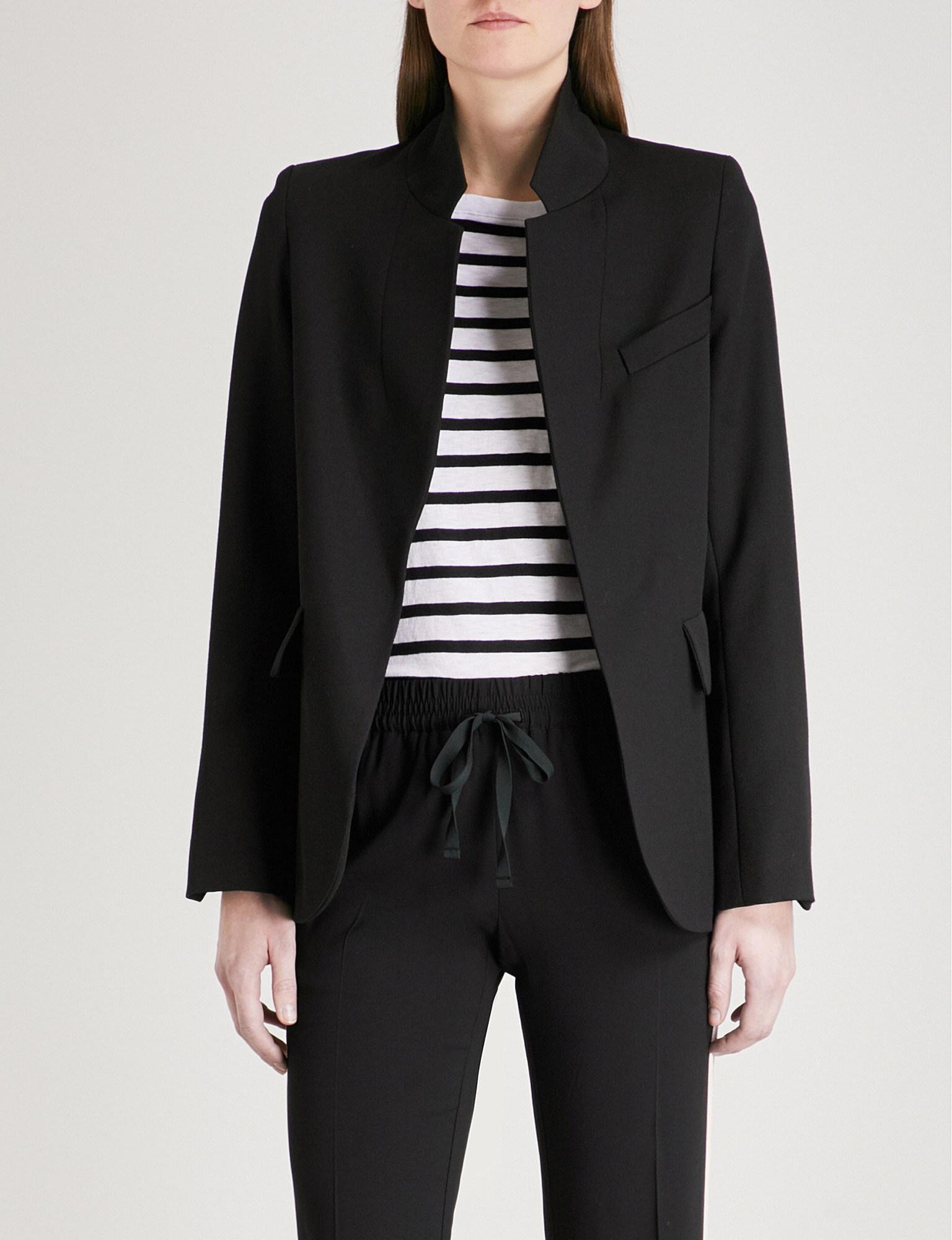 Zadig & Voltaire Wool Tailored Blazer Footlocker Pictures XyKON