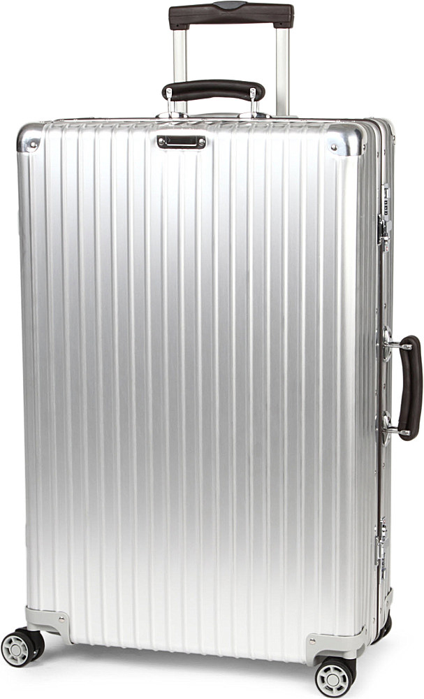 rimowa classic flight four wheel suitcase in. Black Bedroom Furniture Sets. Home Design Ideas