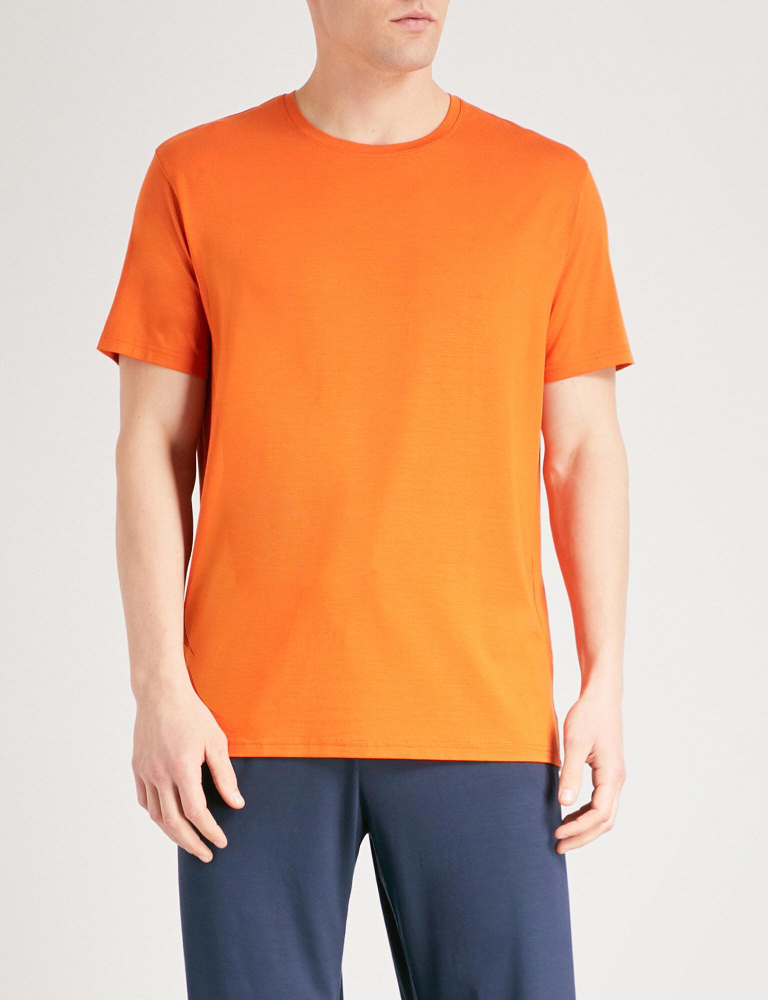 DEREK ROSE T-shirt en jersey stretch Basel vfq2t97Frj