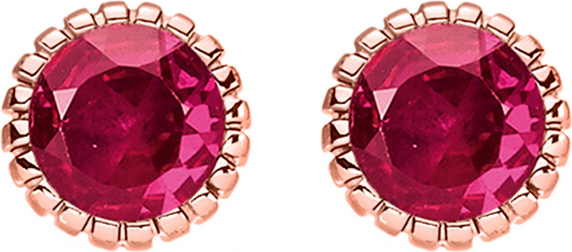 0832f353f Lyst - Thomas Sabo Glam & Soul 18ct Rose Gold-plated Earrings in Red