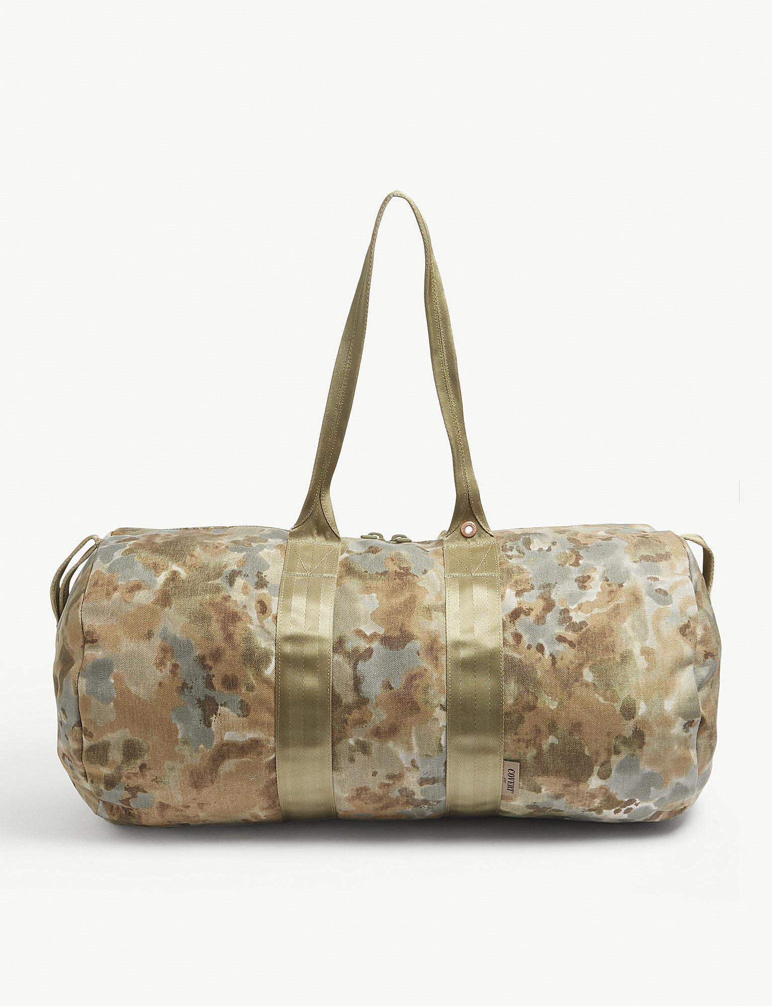 f480b2d607a5 Herschel Supply Co. Bhw H-446 Camouflage Duffle Bag in Metallic for ...
