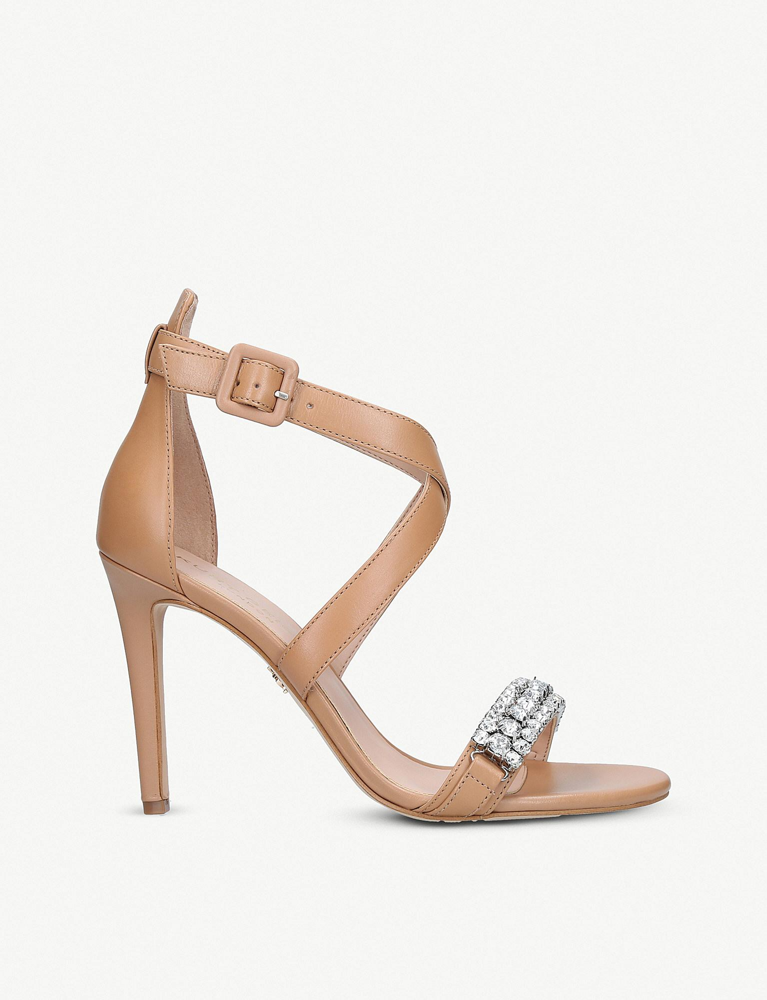 1e2240fb387 Kurt Geiger. Women s Knightsbridge Crystal Stiletto Heel Sandals