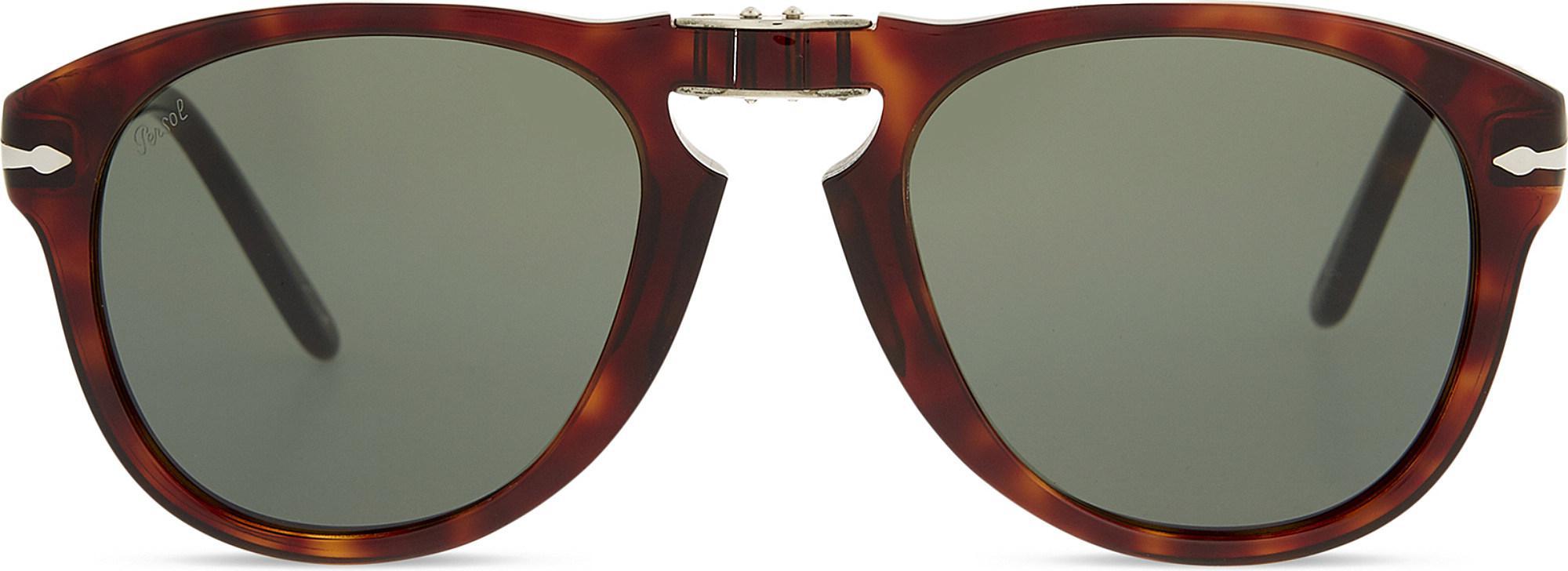 be06376fec Persol - Brown Po2431 Tortoiseshell Square-frame Sunglasses - Lyst. View  fullscreen