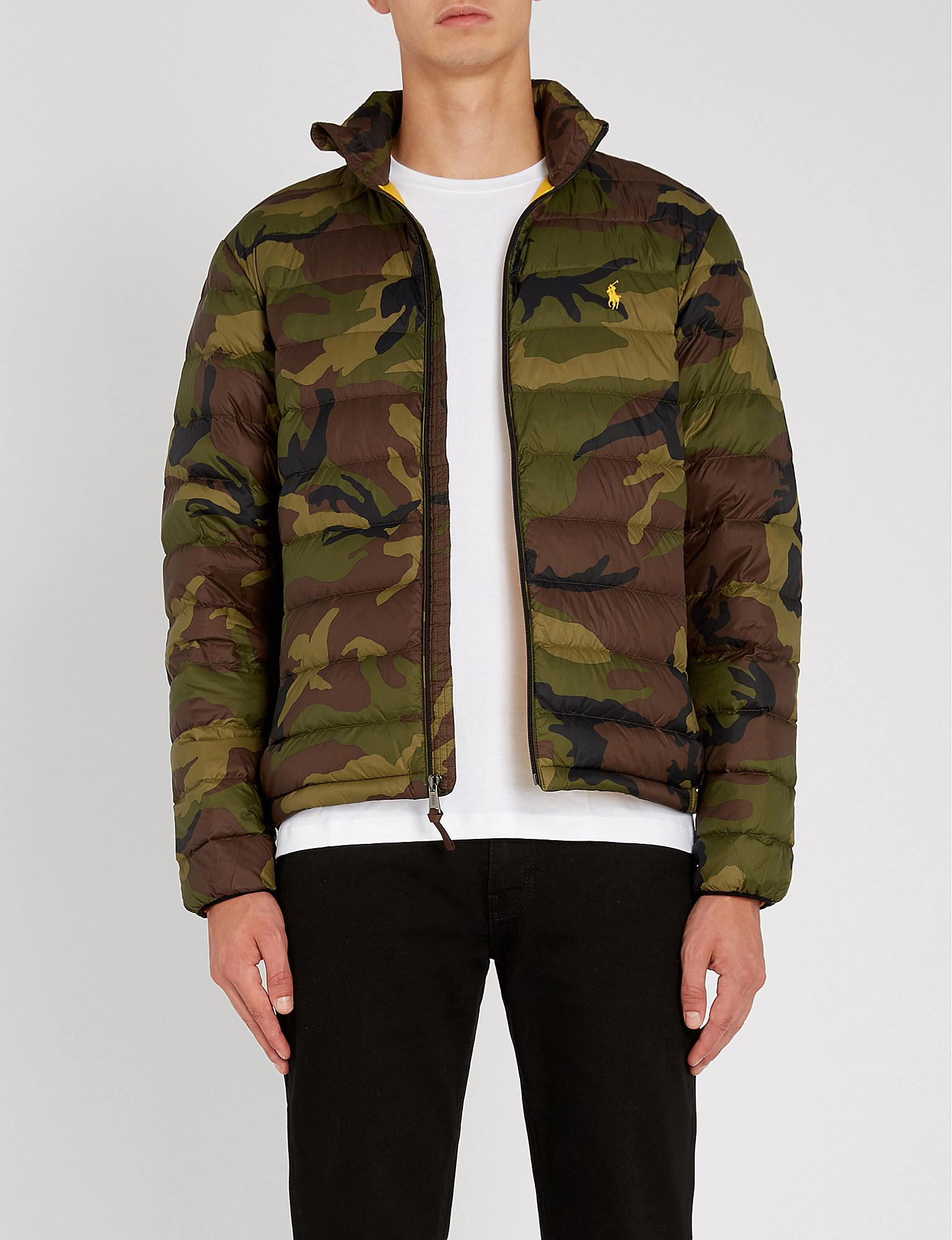 Ralph Jacket In Shell Down Polo Bleeker Camouflage Patterned Lauren  4Fq8nBwd0 83a50a07b9f