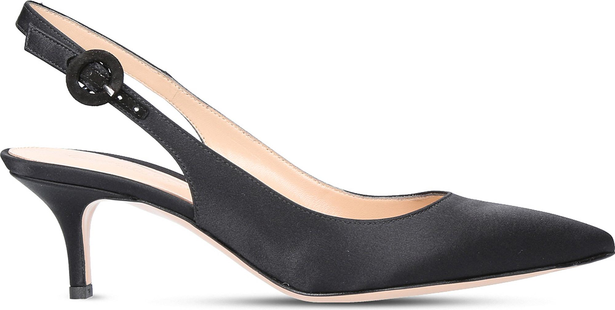 Anna 55 Patent-leather Slingback Pumps - Black Gianvito Rossi For Cheap Cheap Online Free Shipping Amazon Low Shipping Fee Clearance Shop For Find Great Sale Online 9o3zt