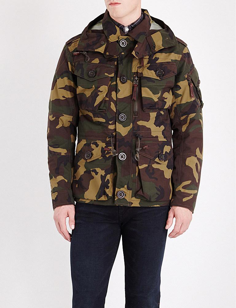 492568bb84bf1 Polo Ralph Lauren Camouflage-print Hooded Shell Utility Jacket for ...