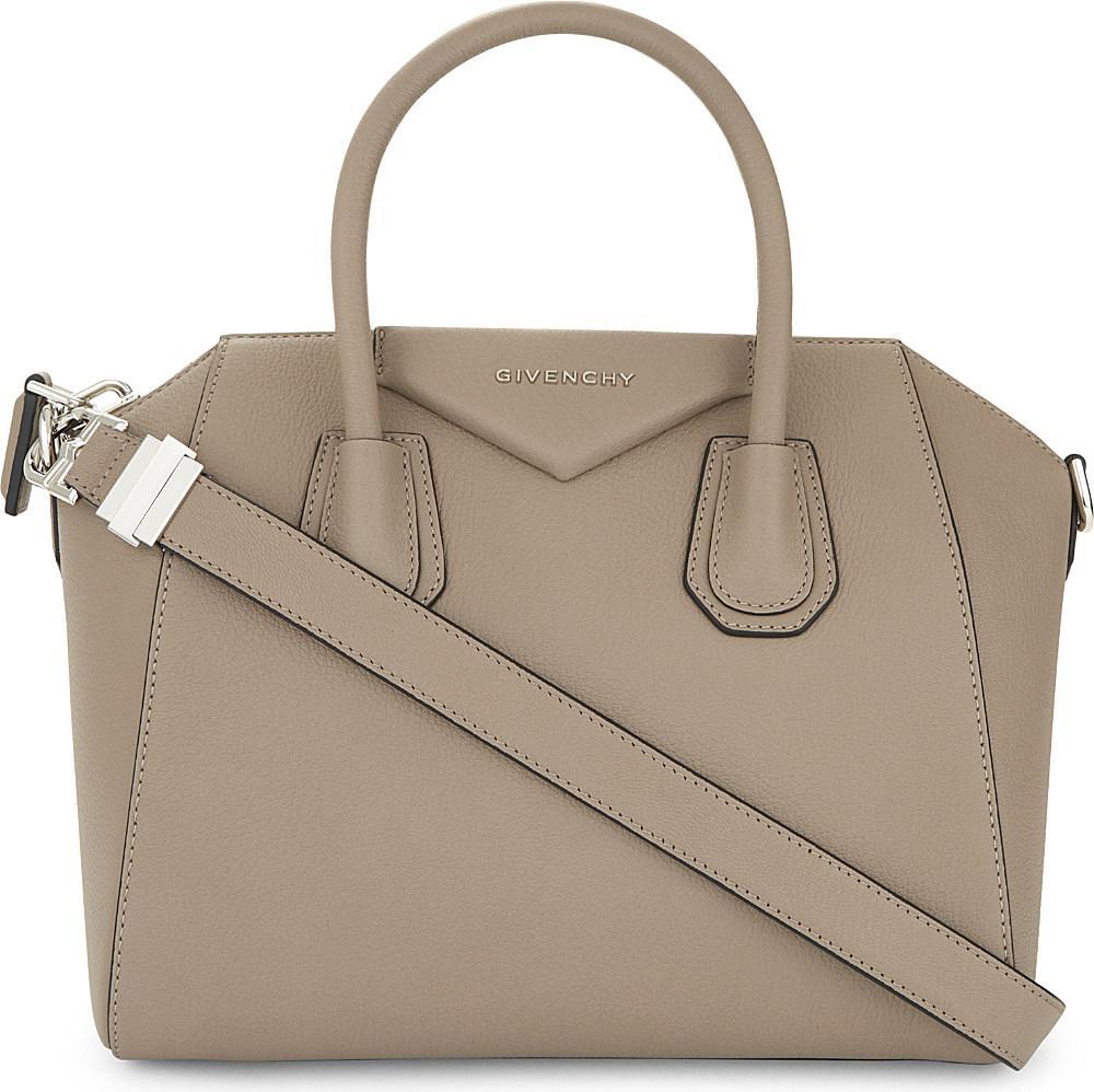b1a14988f55 Lyst - Givenchy Antigona Sugar Small Leather Tote