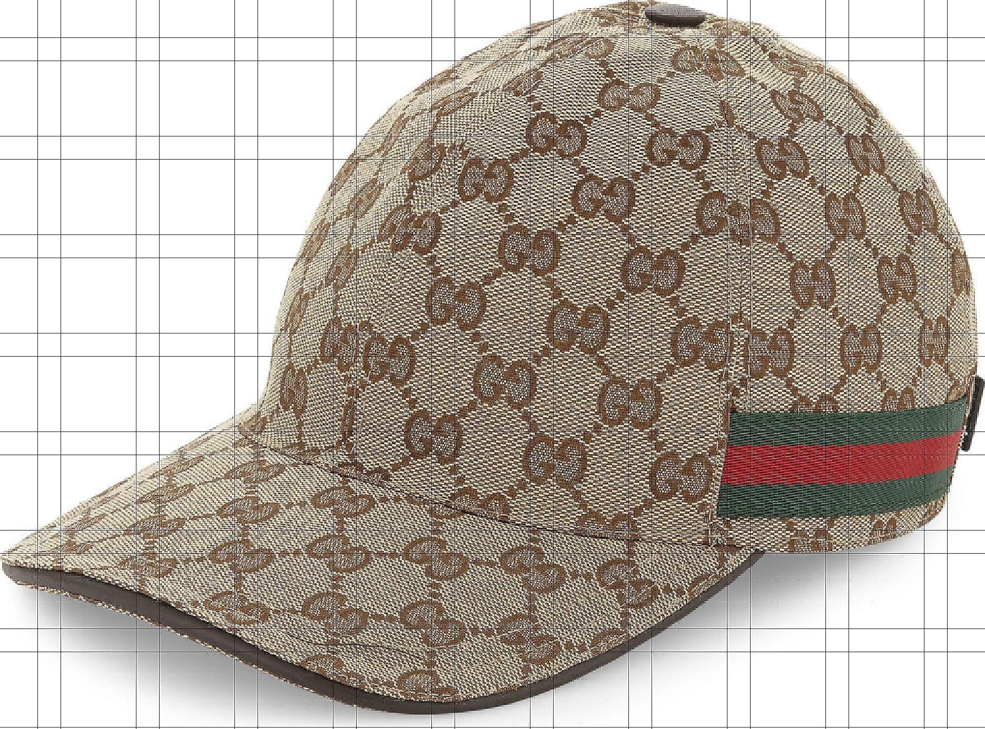 024c35c5f89 Gucci GG Web Stripe Baseball Cap in Brown for Men - Save 15% - Lyst