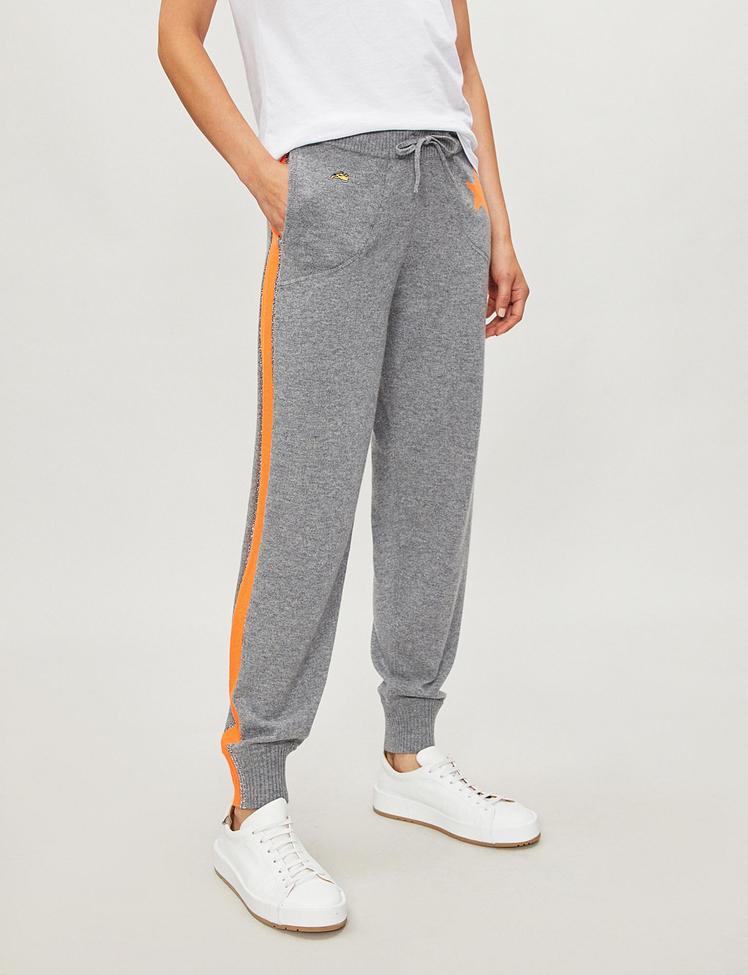 e56bff7a Lyst - Bella Freud Billie Cashmere jogging Bottoms in Gray