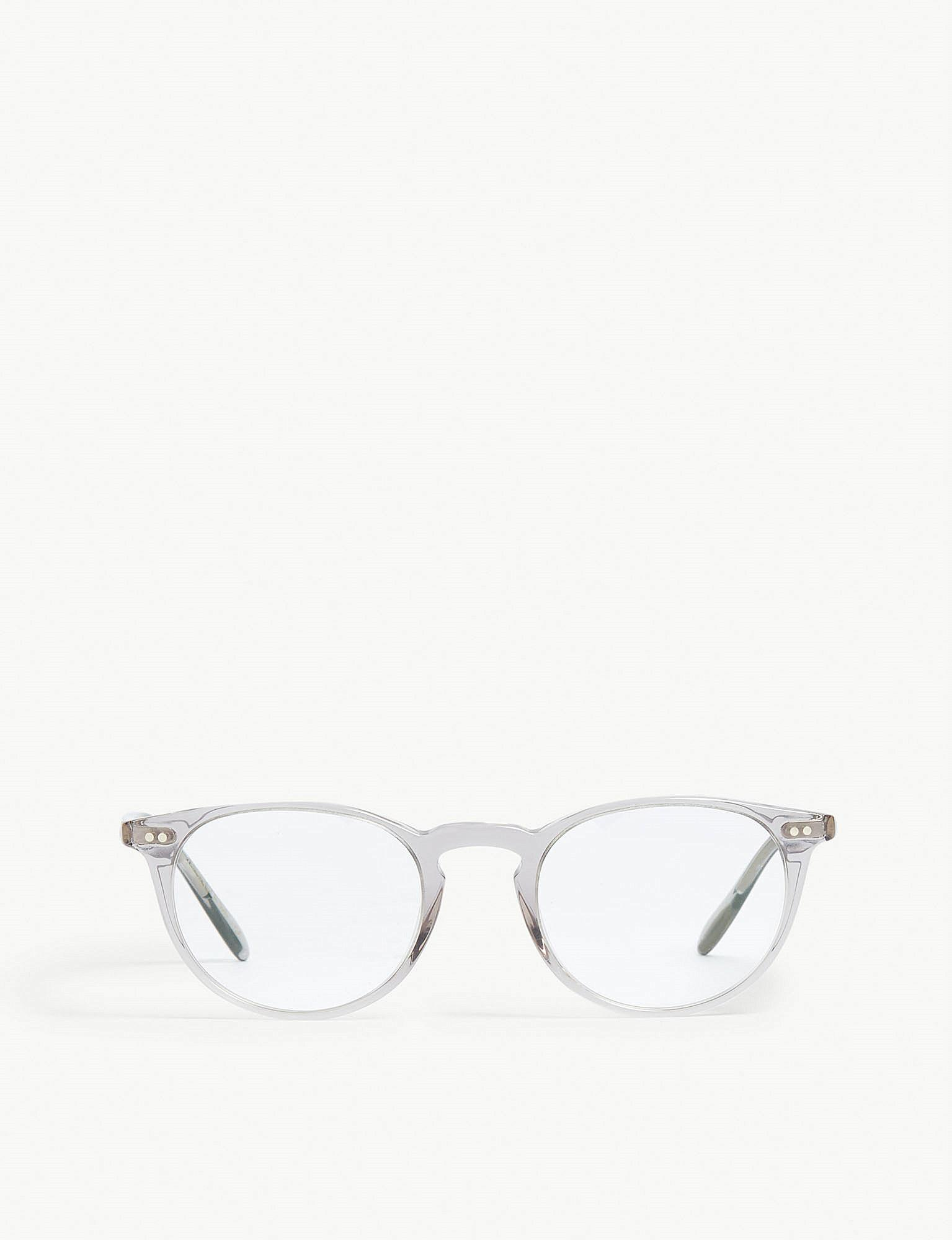 47a3ef7f932 Oliver Peoples Riley-r Phantos-frame Optical Glasses in Gray - Lyst