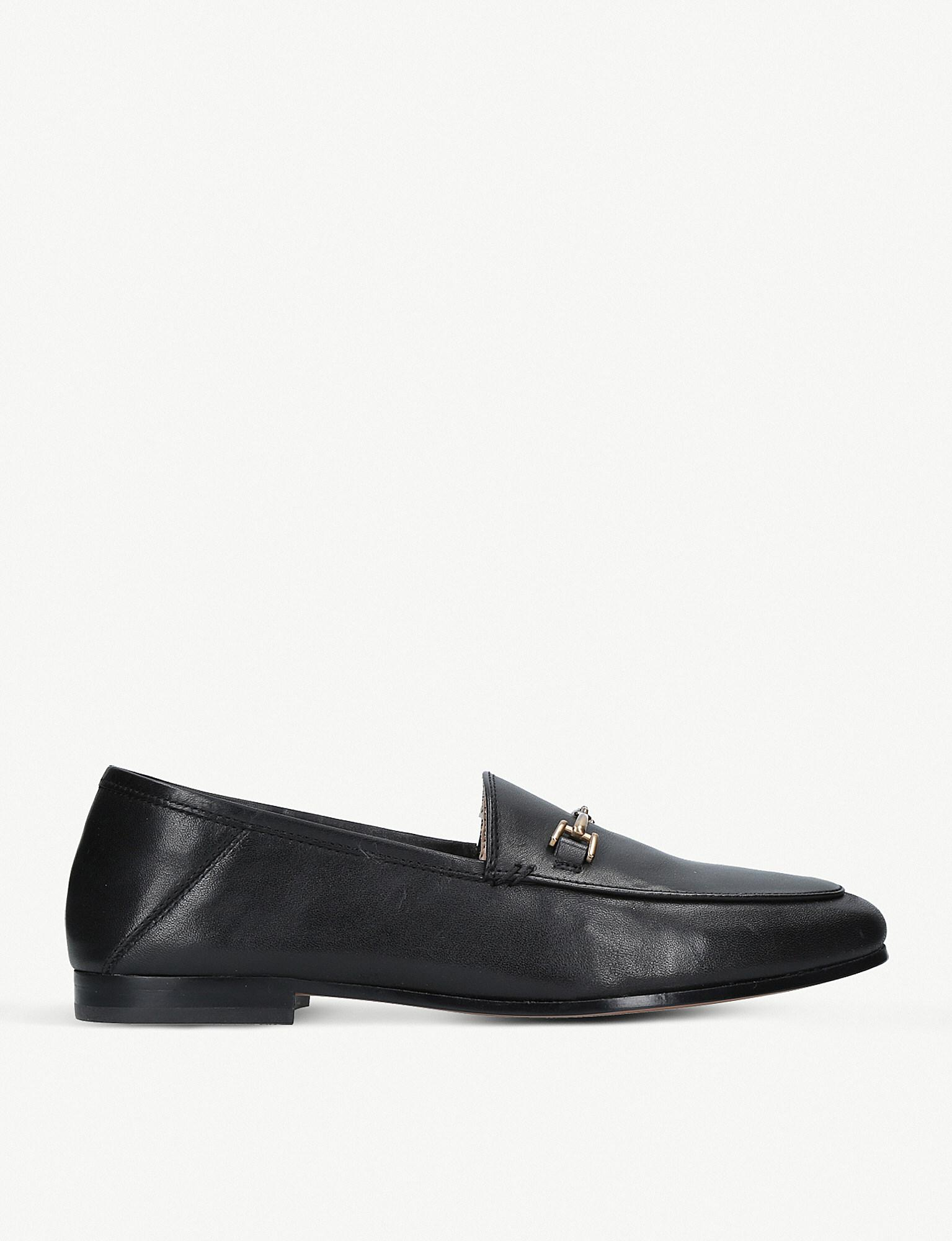 67510f98752 Lyst - Sam Edelman Loraine Leather Loafers in Black