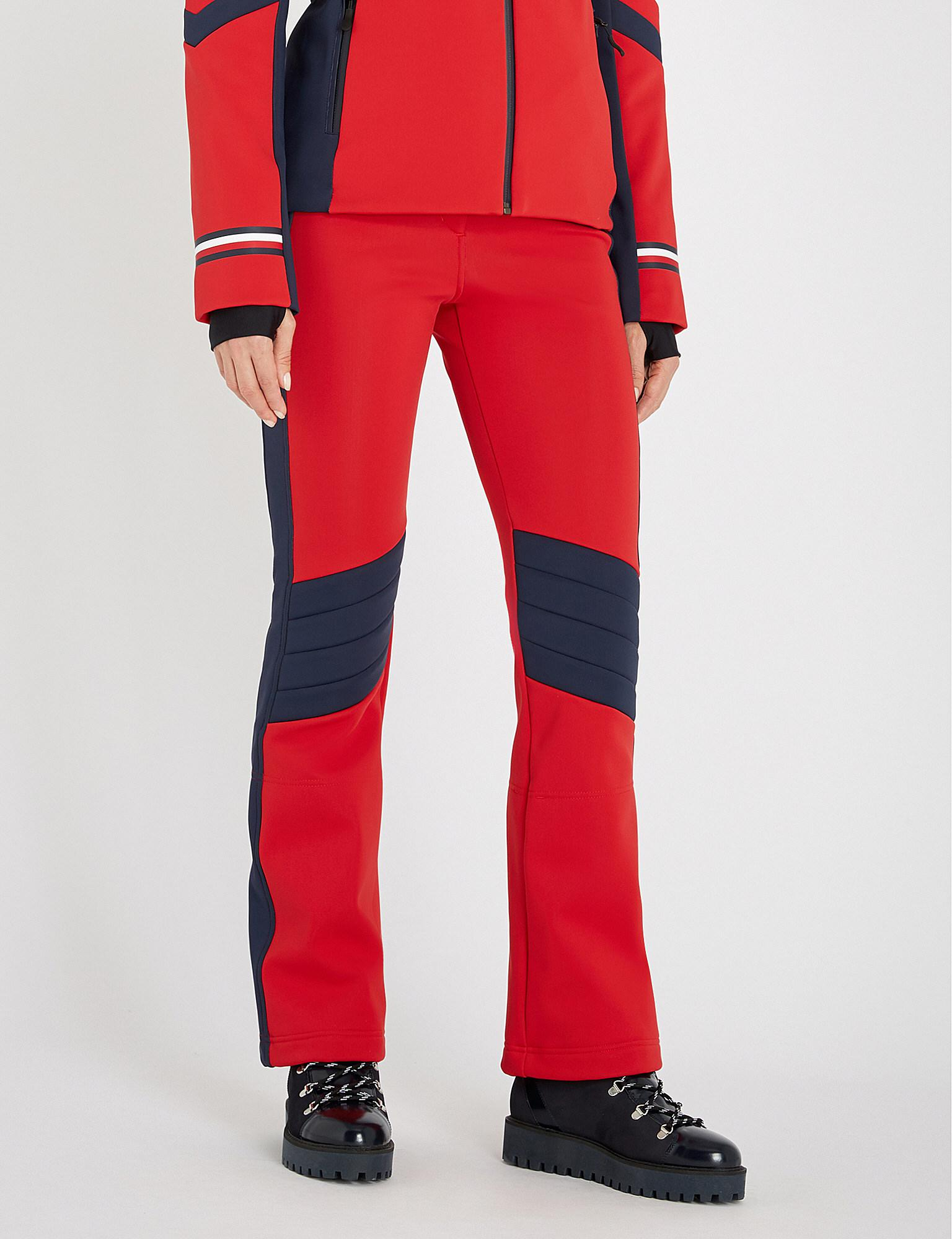 3ee80728 Tommy Hilfiger X Rossignol Stretch-shell Ski Trousers in Red - Lyst