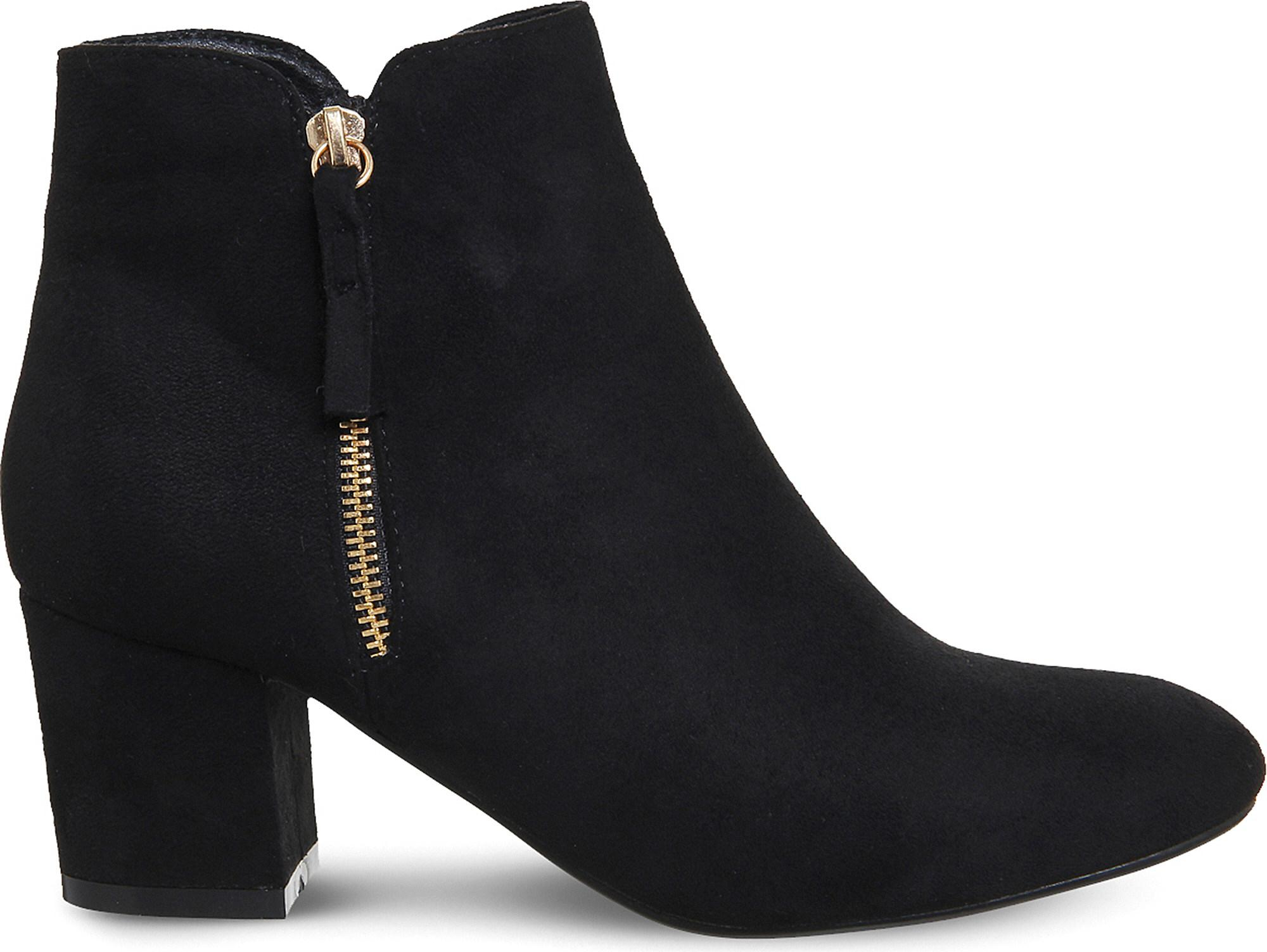 16239040369 Office Alicia Side-zip Ankle Boots in Black - Lyst