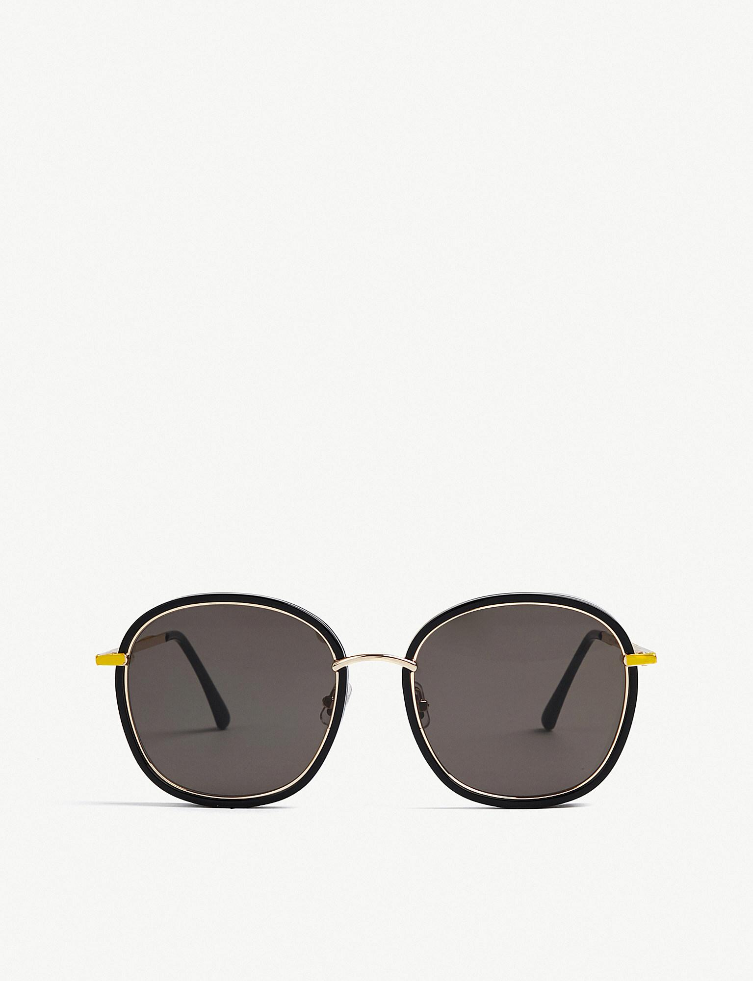 4020d6de0428 Gentle Monster Mad Crush Square-frame Sunglasses in Black - Lyst