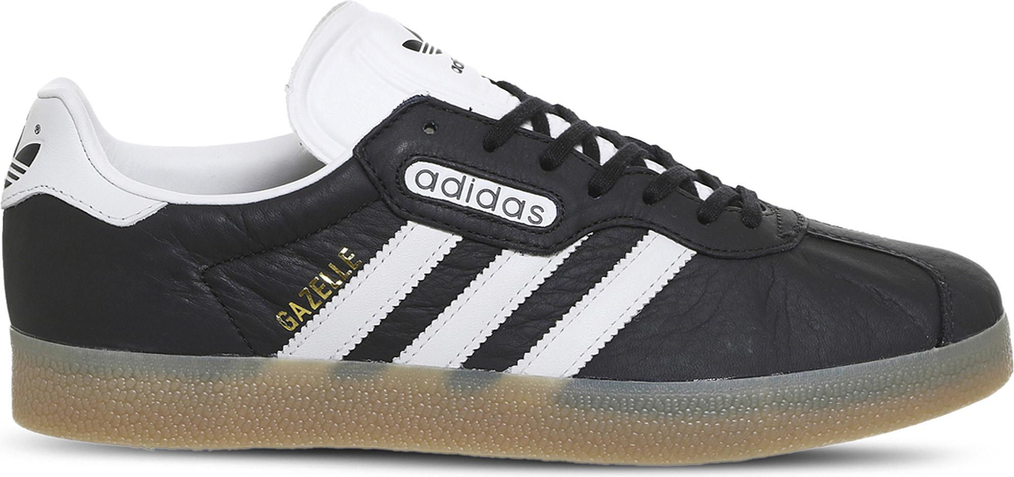 premium selection c4426 bcf7f Gallery. Previously sold at Selfridges · Mens Adidas Gazelle ...