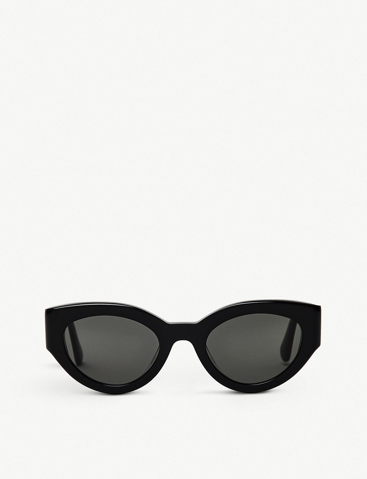 8e8f1e1ee3c Lyst - Gentle Monster Ladies Black Tazi Acetate Sunglasses in Black