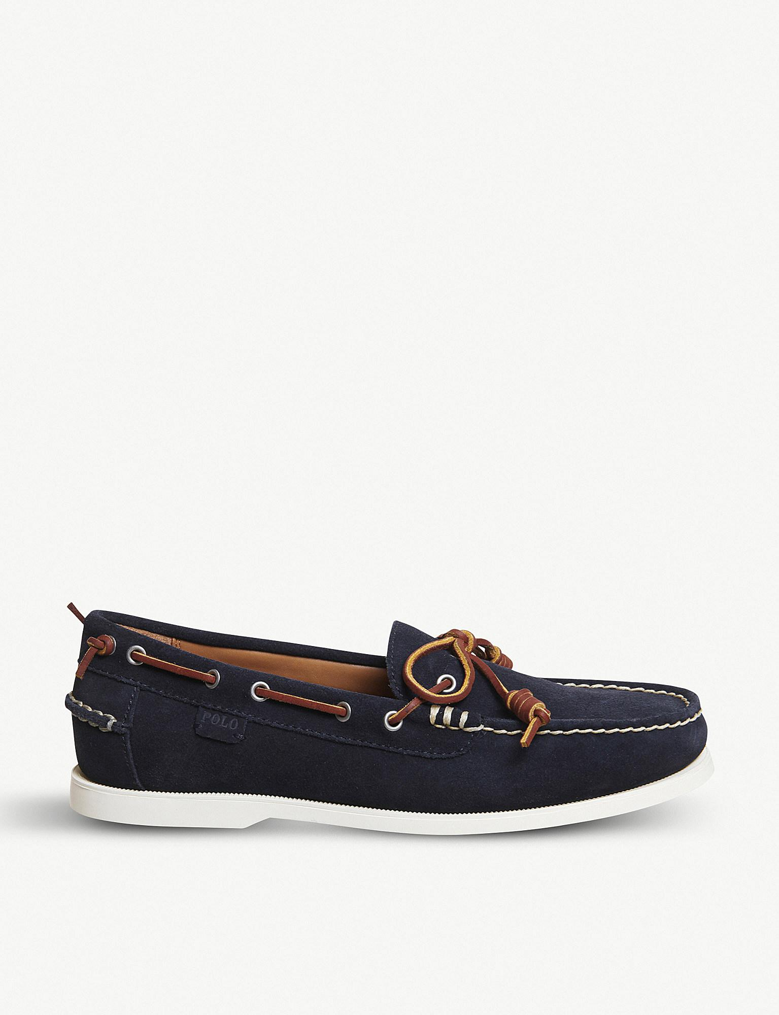 Polo Ralph LaurenMILLARD - Boat shoes - polo tan OSjAC