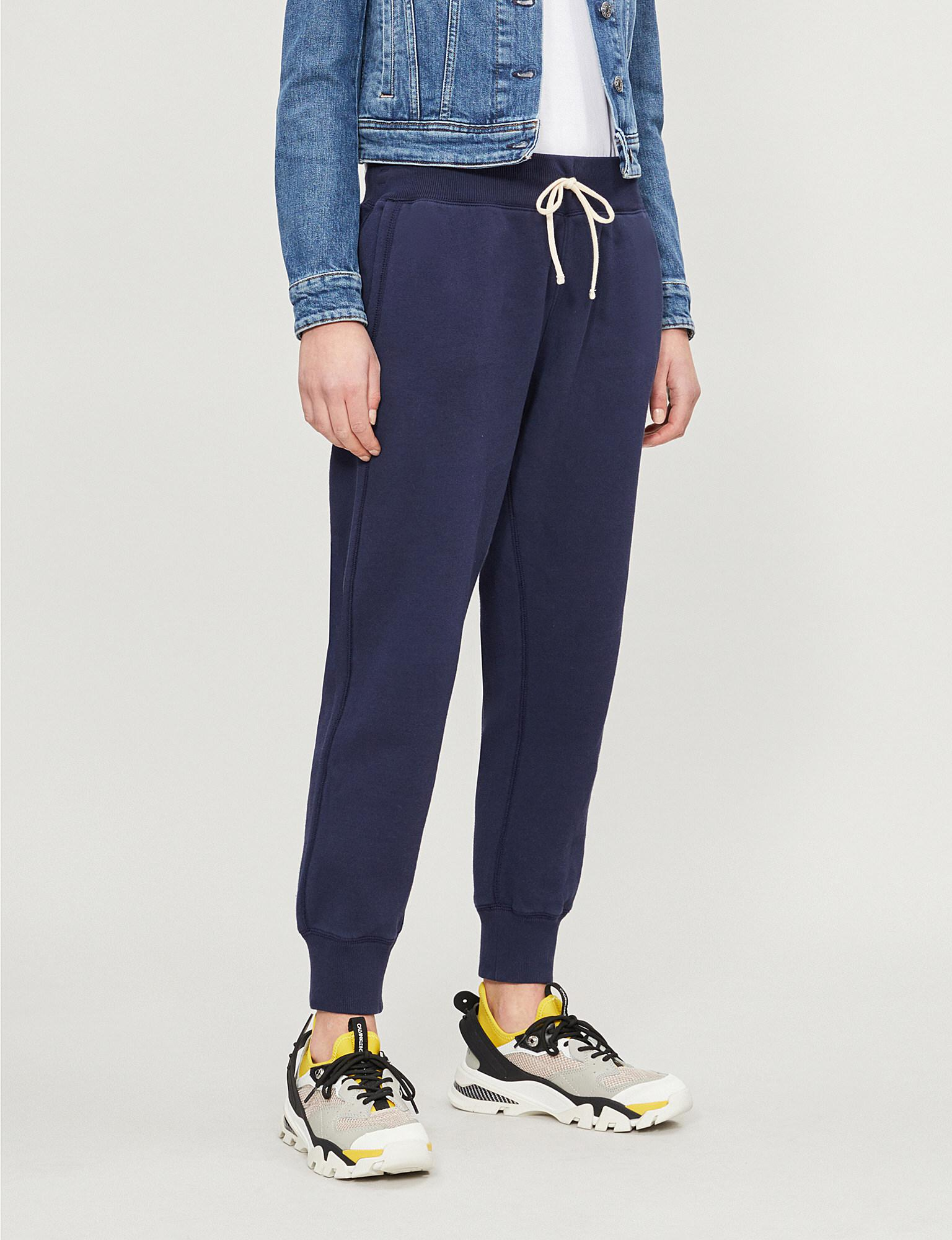 c6ba2366474f Lyst - Polo Ralph Lauren Pony Icon Cotton-blend Tracksuit Bottoms in ...
