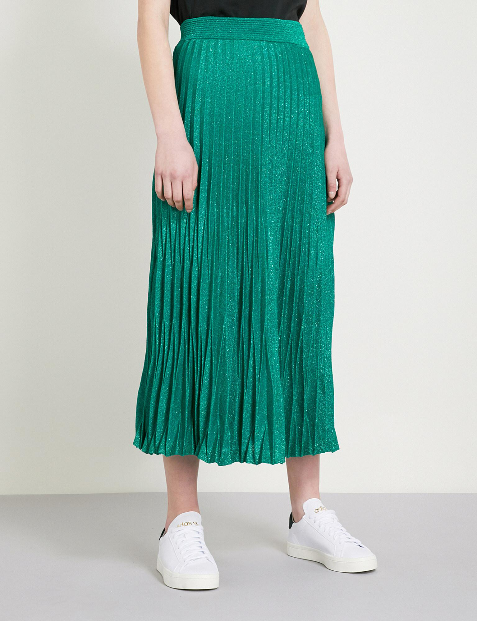 3c85daef51 Gallery. Previously sold at: Selfridges · Women's Metallic Skirts Women's Pleated  Skirts