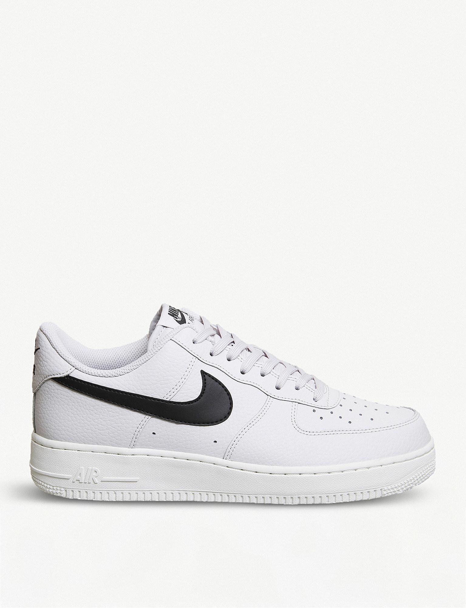 Nike. Women's White Air Force 1 07 Leather Trainers