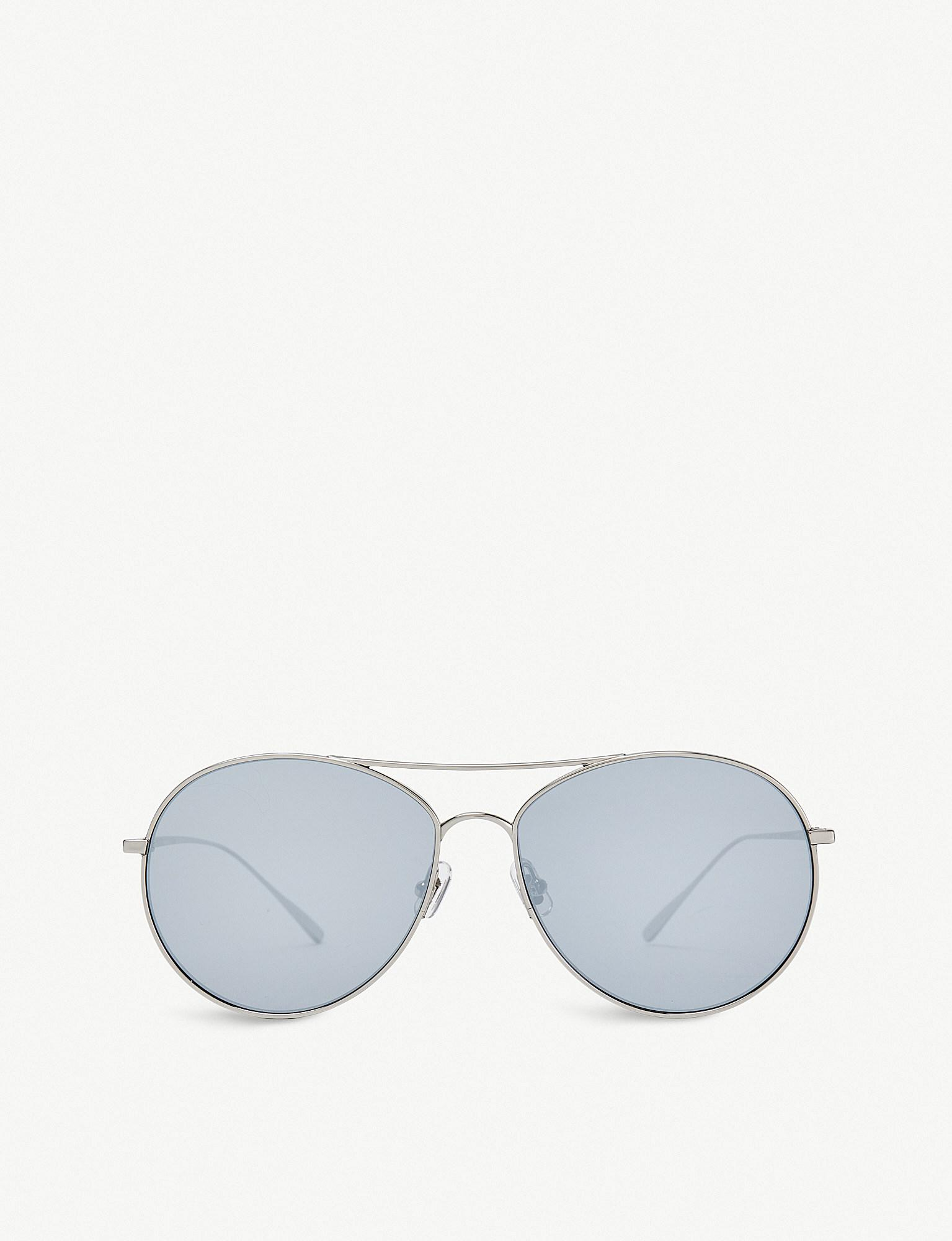 afed9861a2f0 Lyst - Gentle Monster Ranny Ring Monel And Titanium Sunglasses in ...