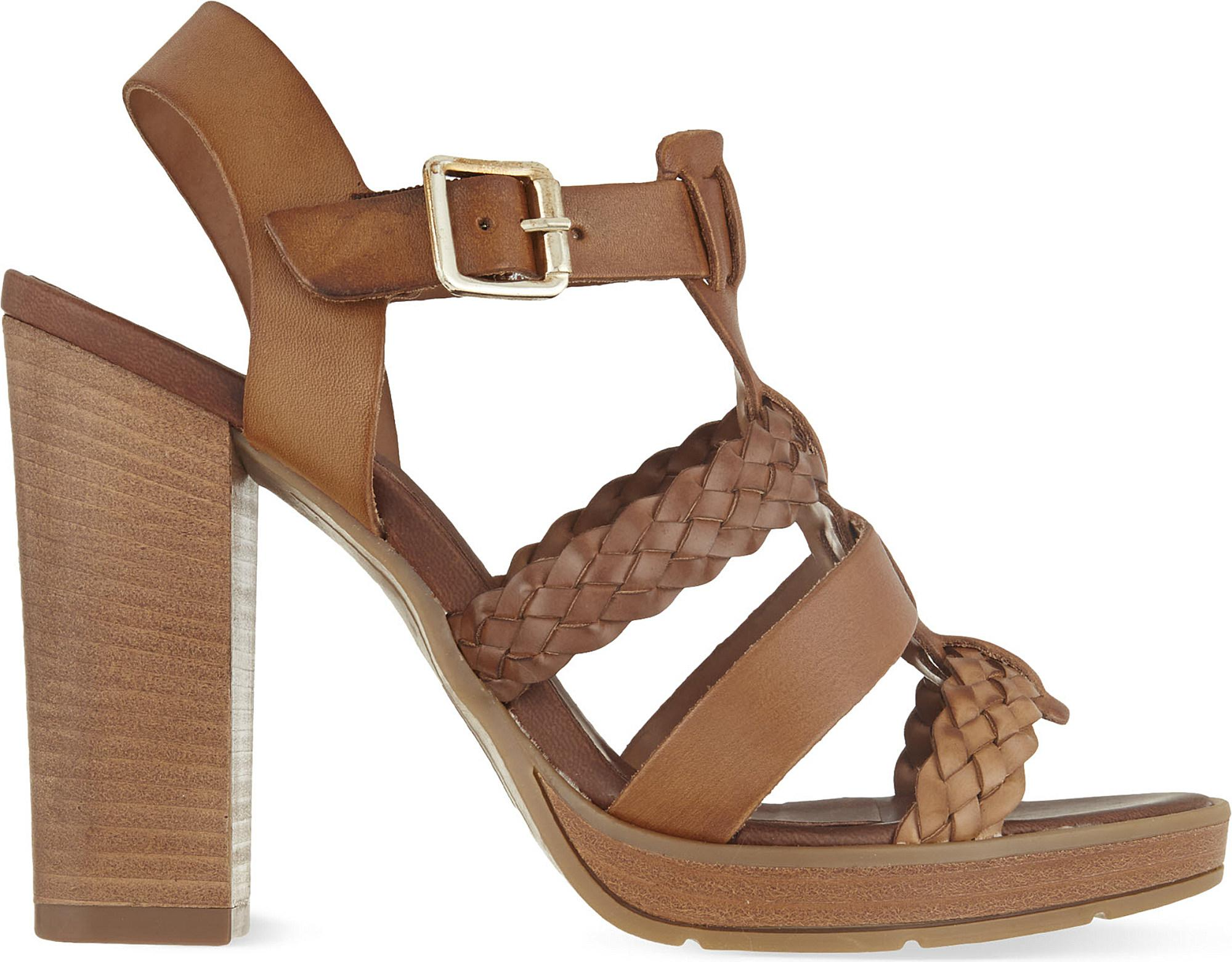 Carvela Krill - tan block heeled sandals Perfect Best Prices For Sale Buy Cheap Shopping Online Shopping Online Cheap Online UmUf7