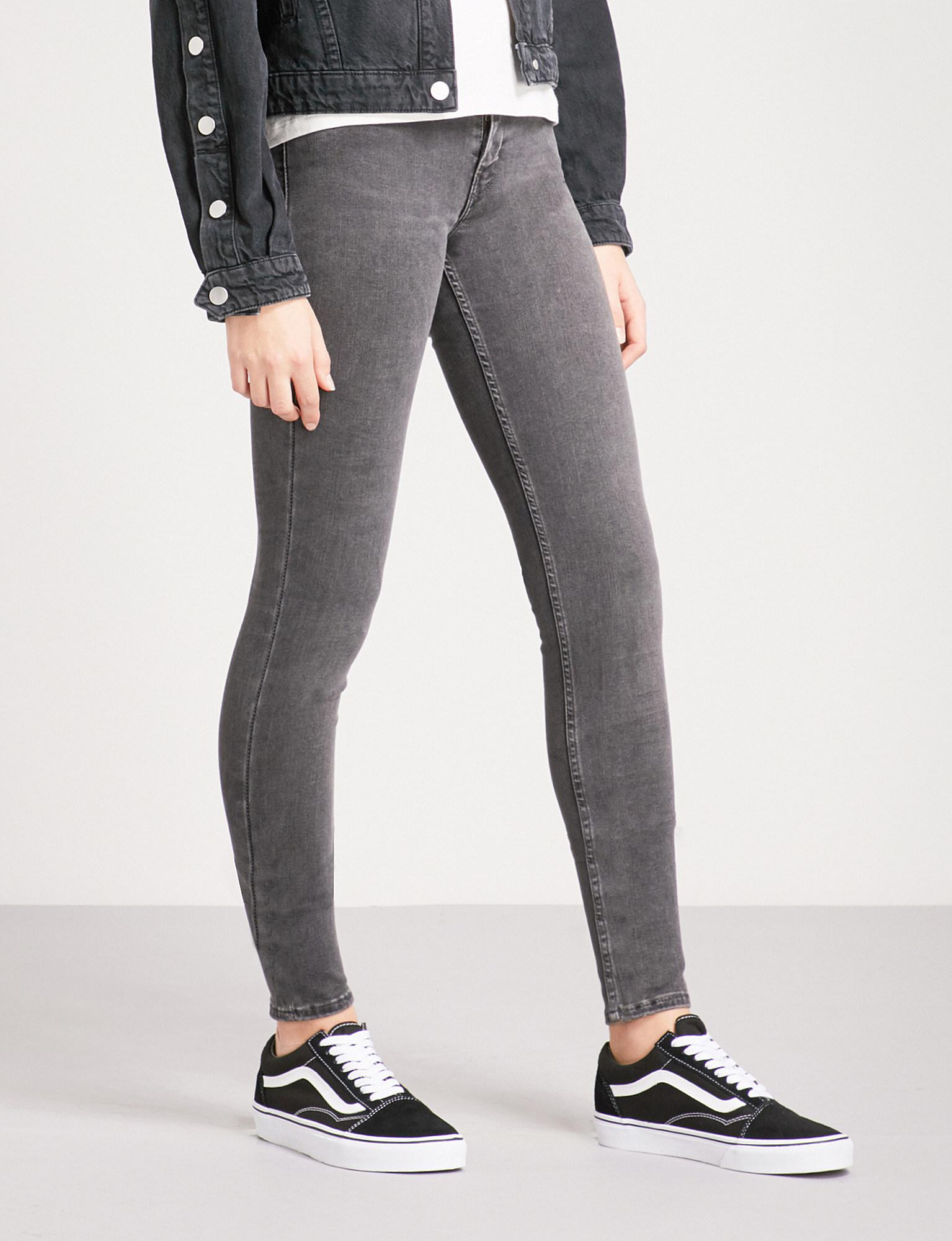 In Gray Rise Jeans Mid Skinny Innovation Levi's Lyst Super WqwABq4Y