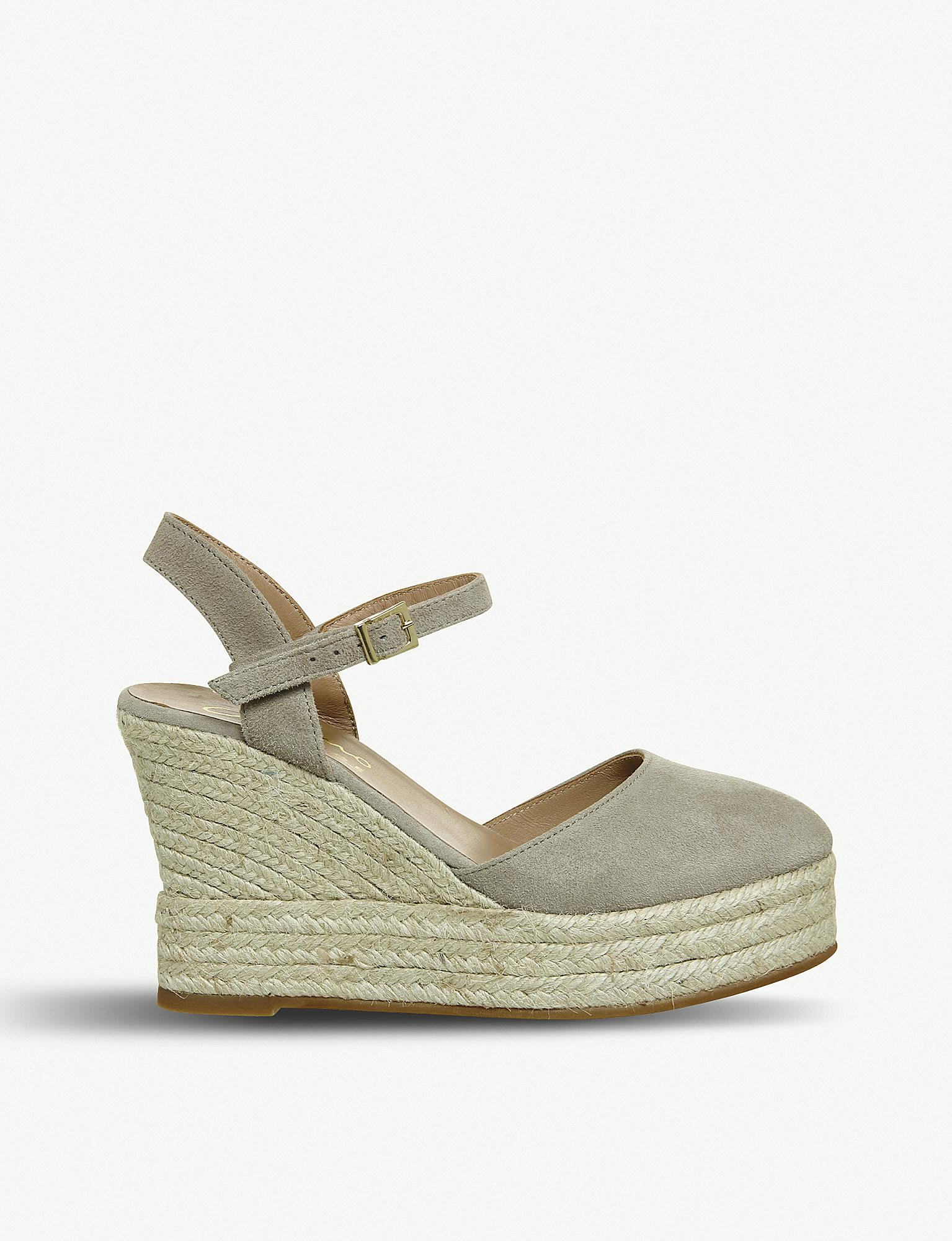 701f842a6bbf Office. Women s Hero Leather Espadrille Wedges