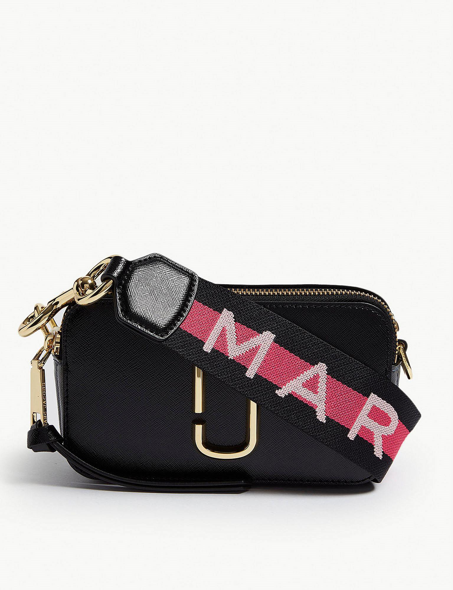Marc Jacobs. Women s Ladies Black Snapshot Saffiano Leather Cross-body Bag 830ad3b34c436