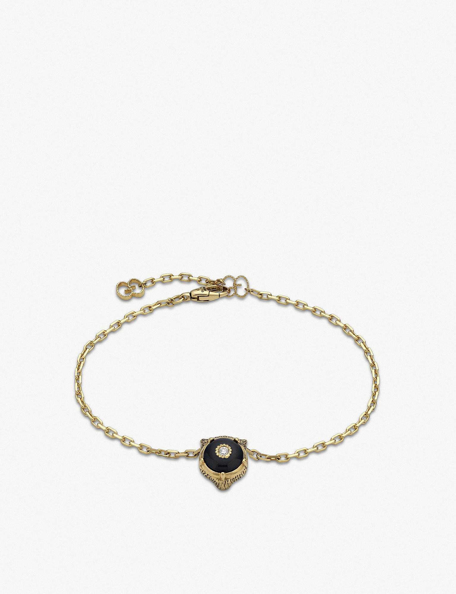 501fb05f826 Lyst - Gucci Le Marché Des Merveilles 18ct Yellow-gold in Metallic