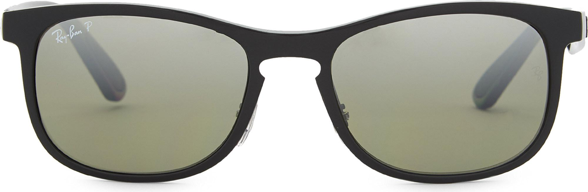 e02d55f6e3d Ray-Ban Rb4263 Chromance Square Sunglasses in Black for Men - Lyst