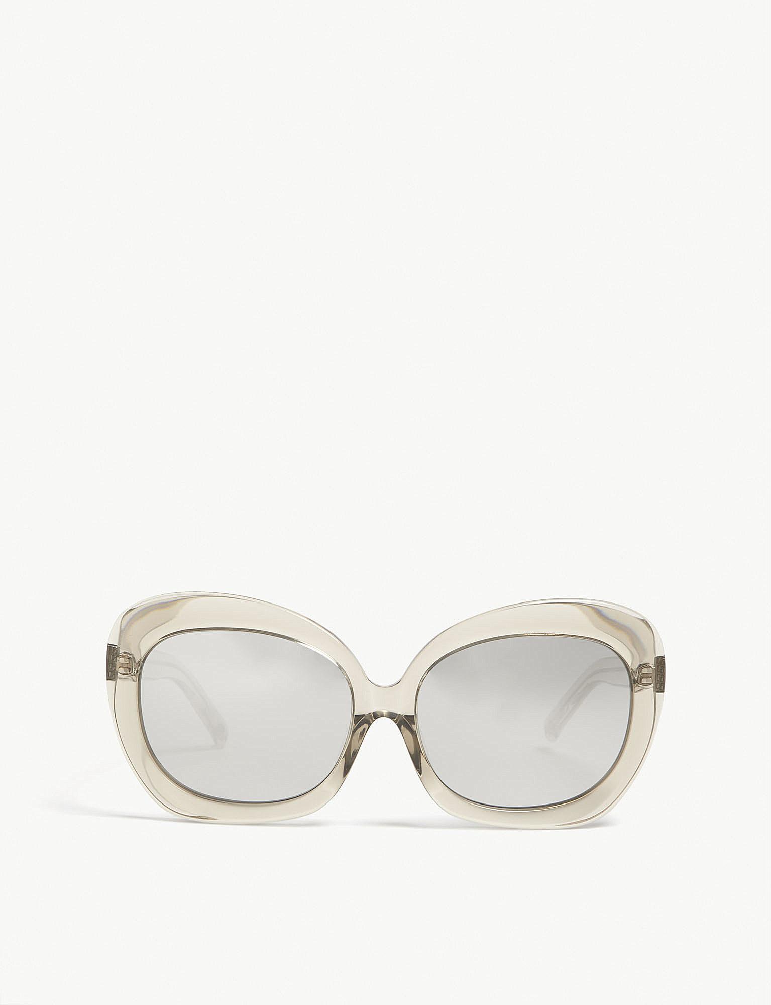 dd3597021a0 Lyst - Linda Farrow Lfl600 Oversized-frame Sunglasses