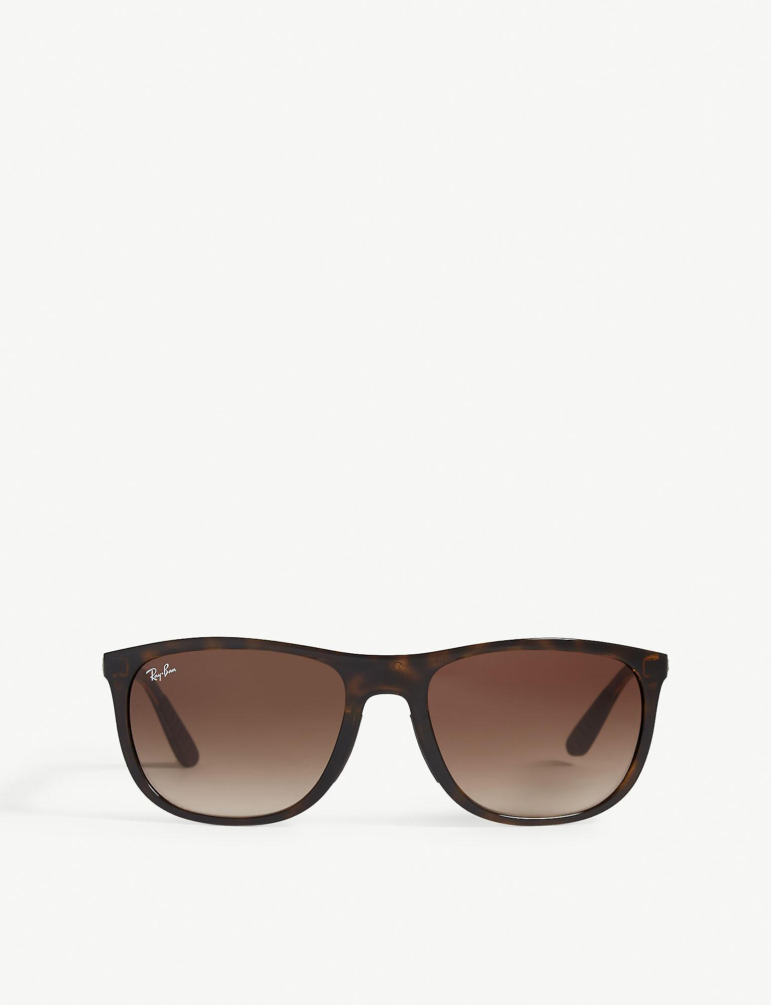 fb746b3520f09 Ray-Ban Rb4291 Square-frame Sunglasses in Brown for Men - Lyst