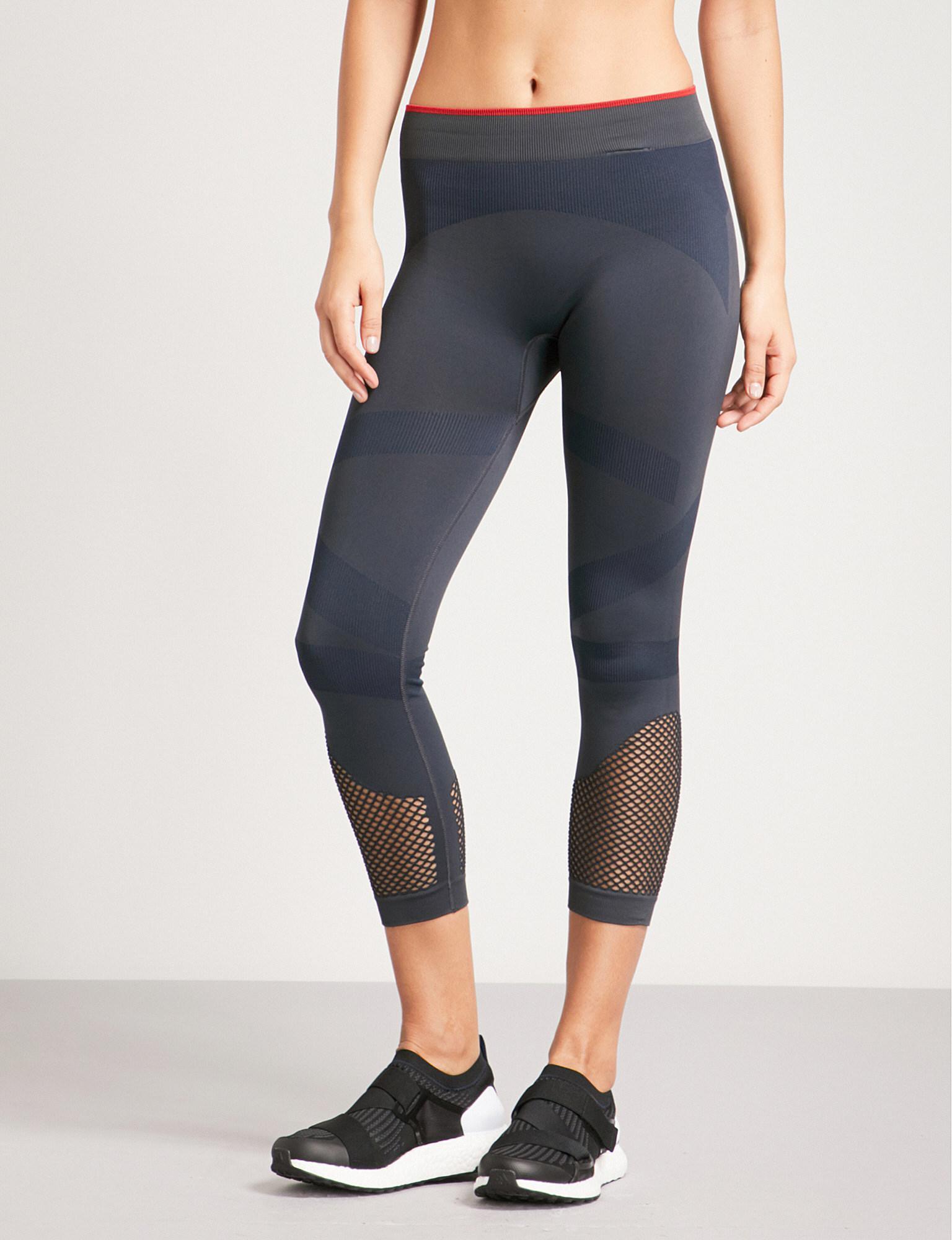 3256d8e2a5fa5 adidas By Stella McCartney Training Seamless Stretch-jersey Leggings ...