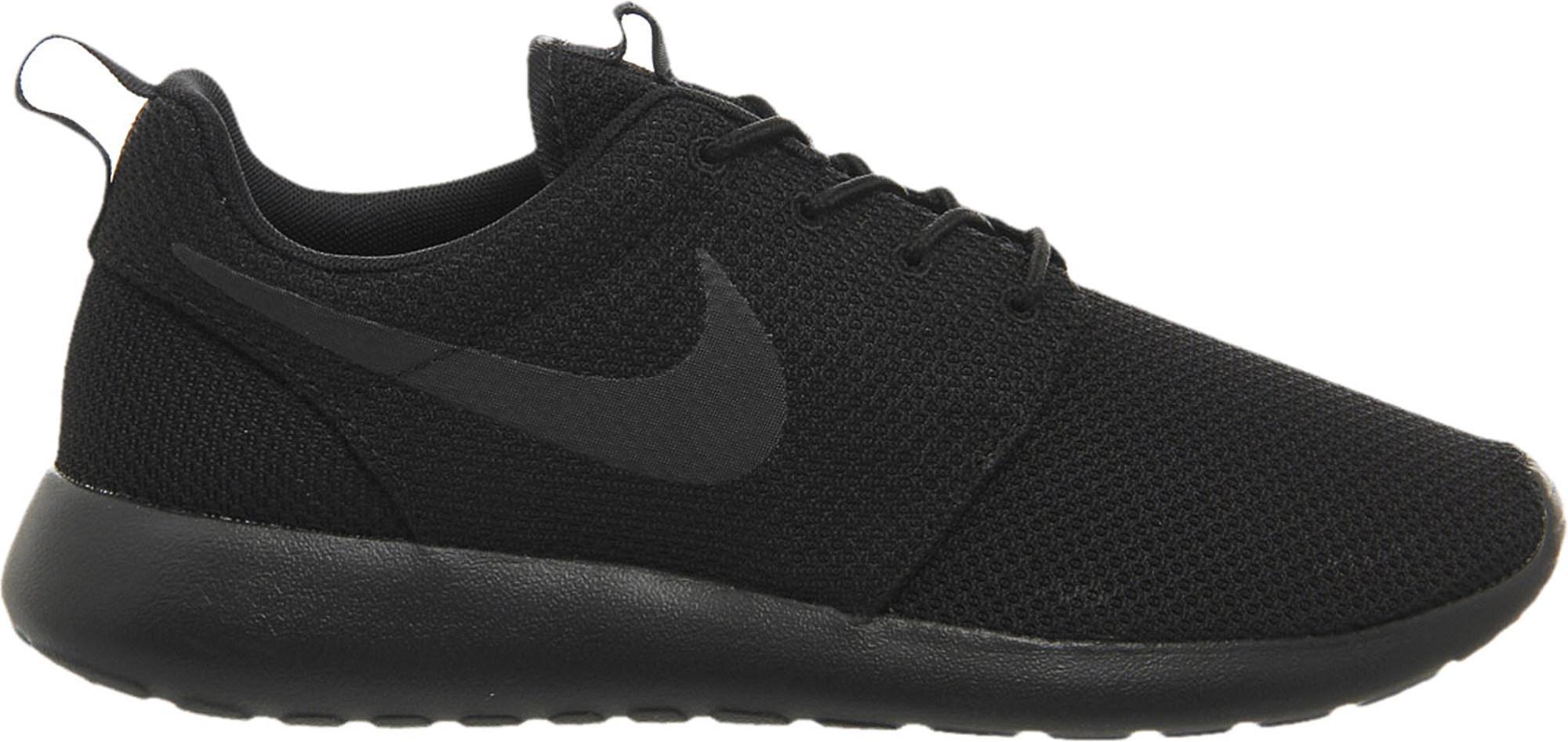 Nike Run Roshe Ser Mono Malla Negro