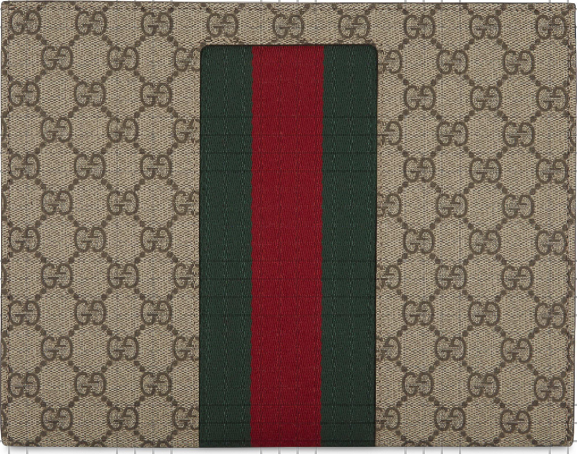 a47e7d7d62f Gucci Web Stripe Gg Supreme Wash Bag for Men - Lyst