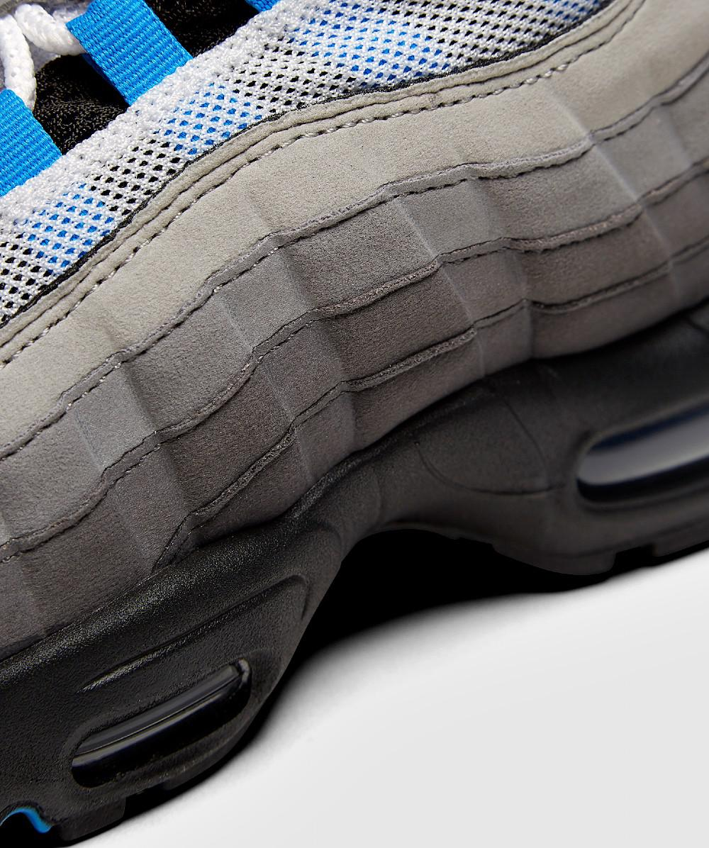 Lyst - Nike Air Max 95  crystal Blue  Trainer in Blue for Men 22f6cf353