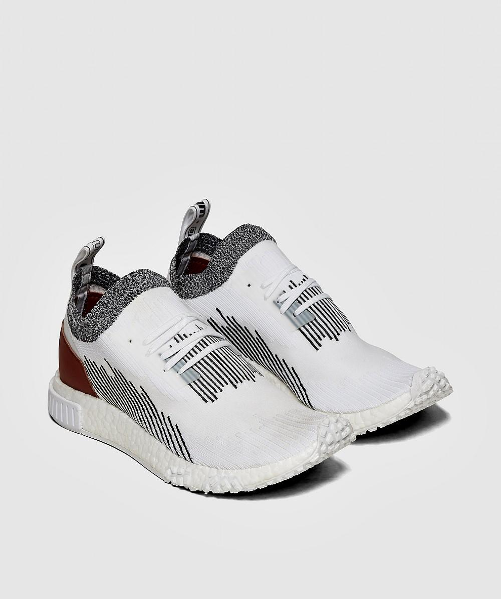 d6cc89c4a Lyst - adidas Nmd Racer Sneaker in White for Men - Save 13%