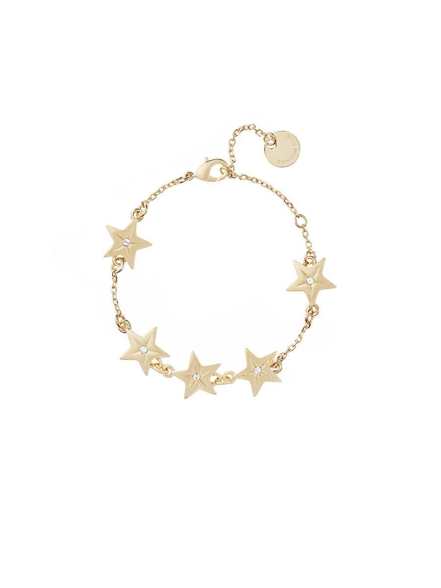 Shanghai Tang Women S Metallic Stars Bracelet